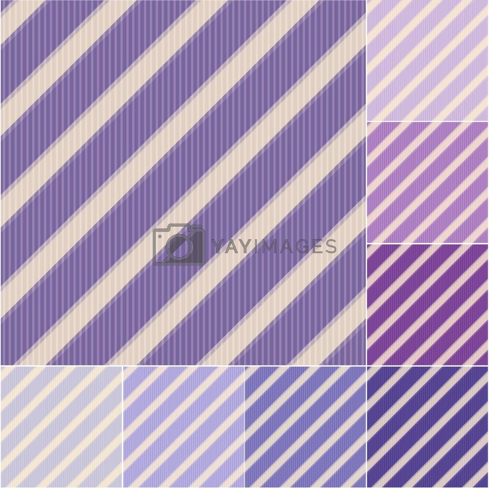 seamless purple violet stripes pattern by pauljune