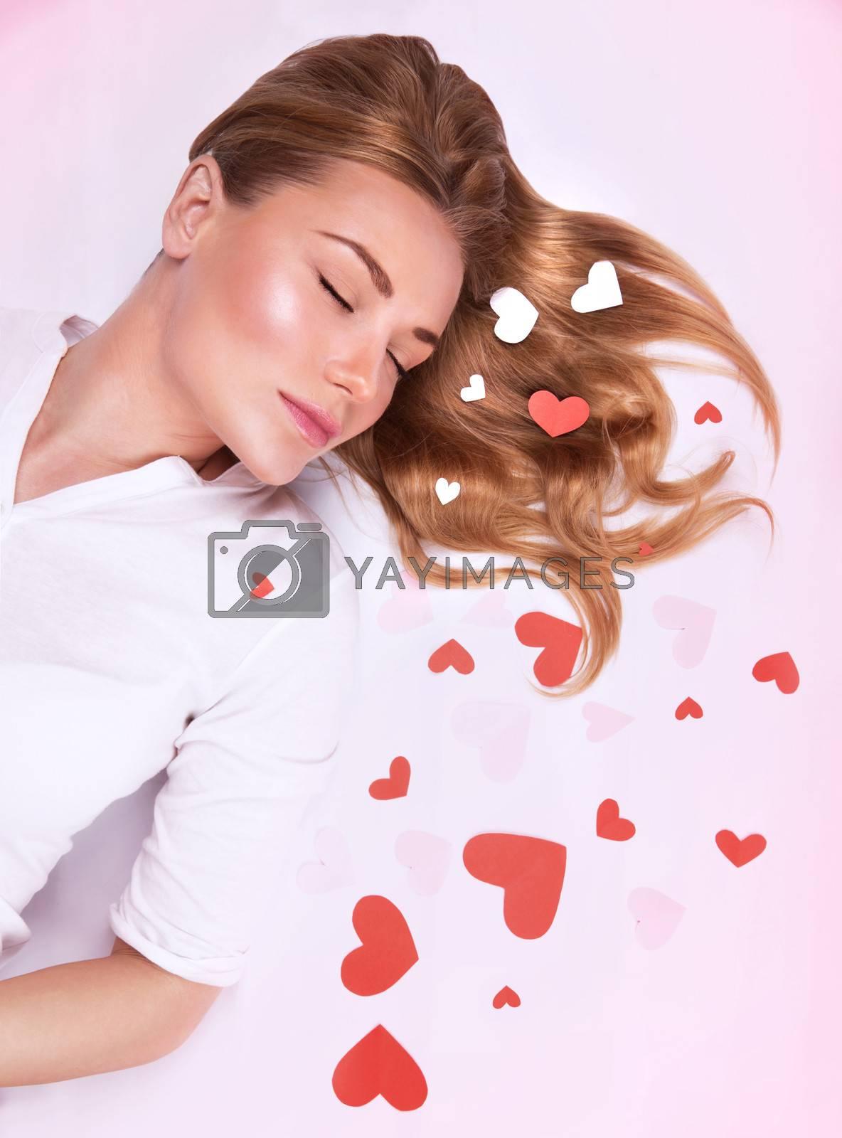 Romantic fashion model by Anna_Omelchenko