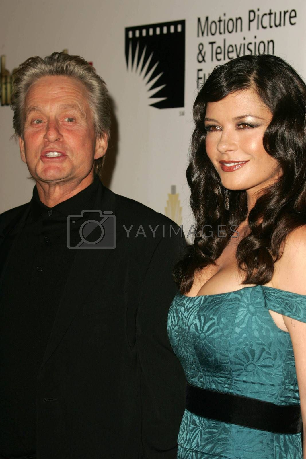 Michael Douglas and Catherine Zeta Jones at the 2nd Annual A Fine Romance, Hollywood and Broadway Musical Fundraiser. Sunset Gower Studios, Hollywood, CA. 11-18-06