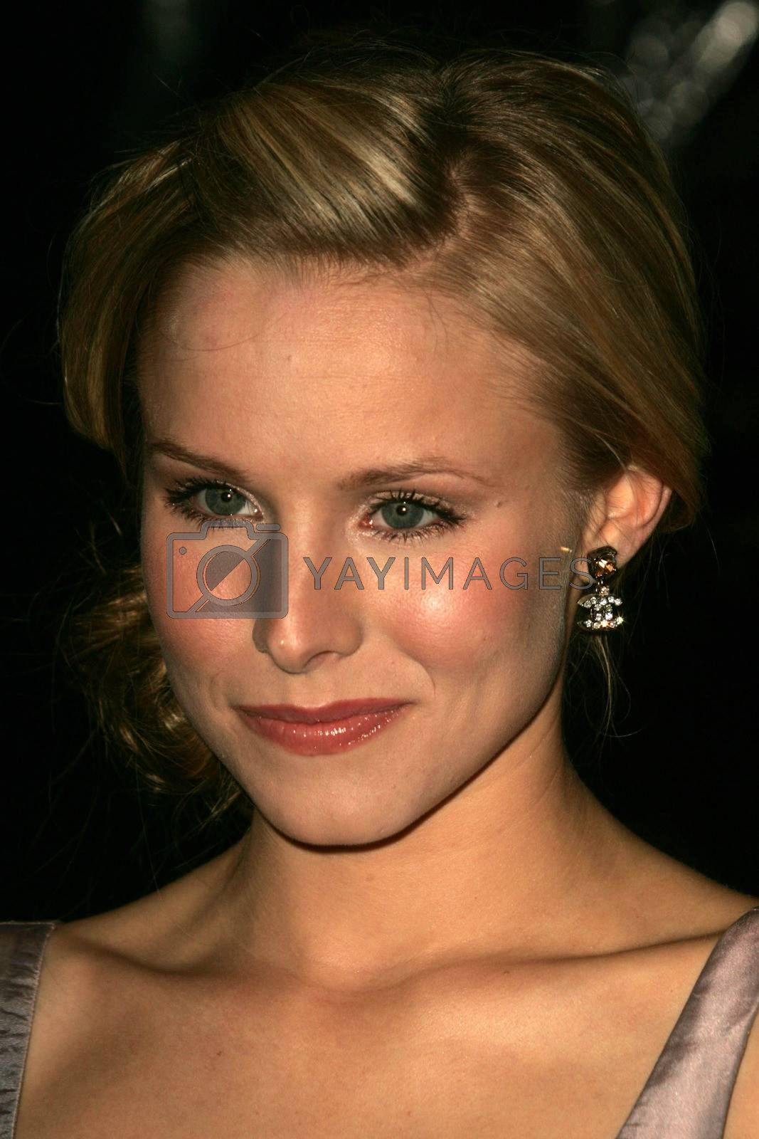 Kristen Bell at the 2nd Annual A Fine Romance, Hollywood and Broadway Musical Fundraiser. Sunset Gower Studios, Hollywood, CA. 11-18-06