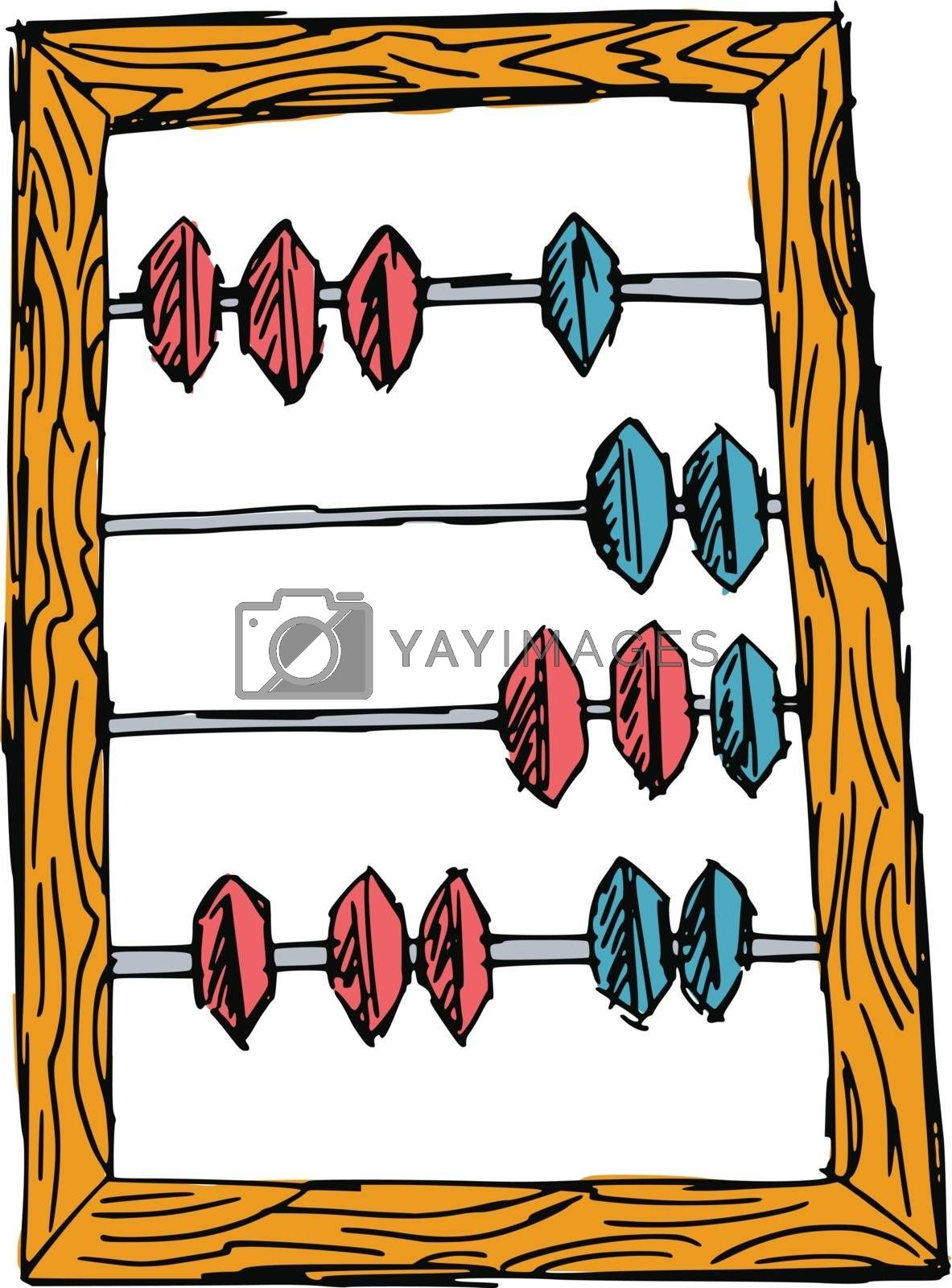 Royalty free image of abacus by Perysty