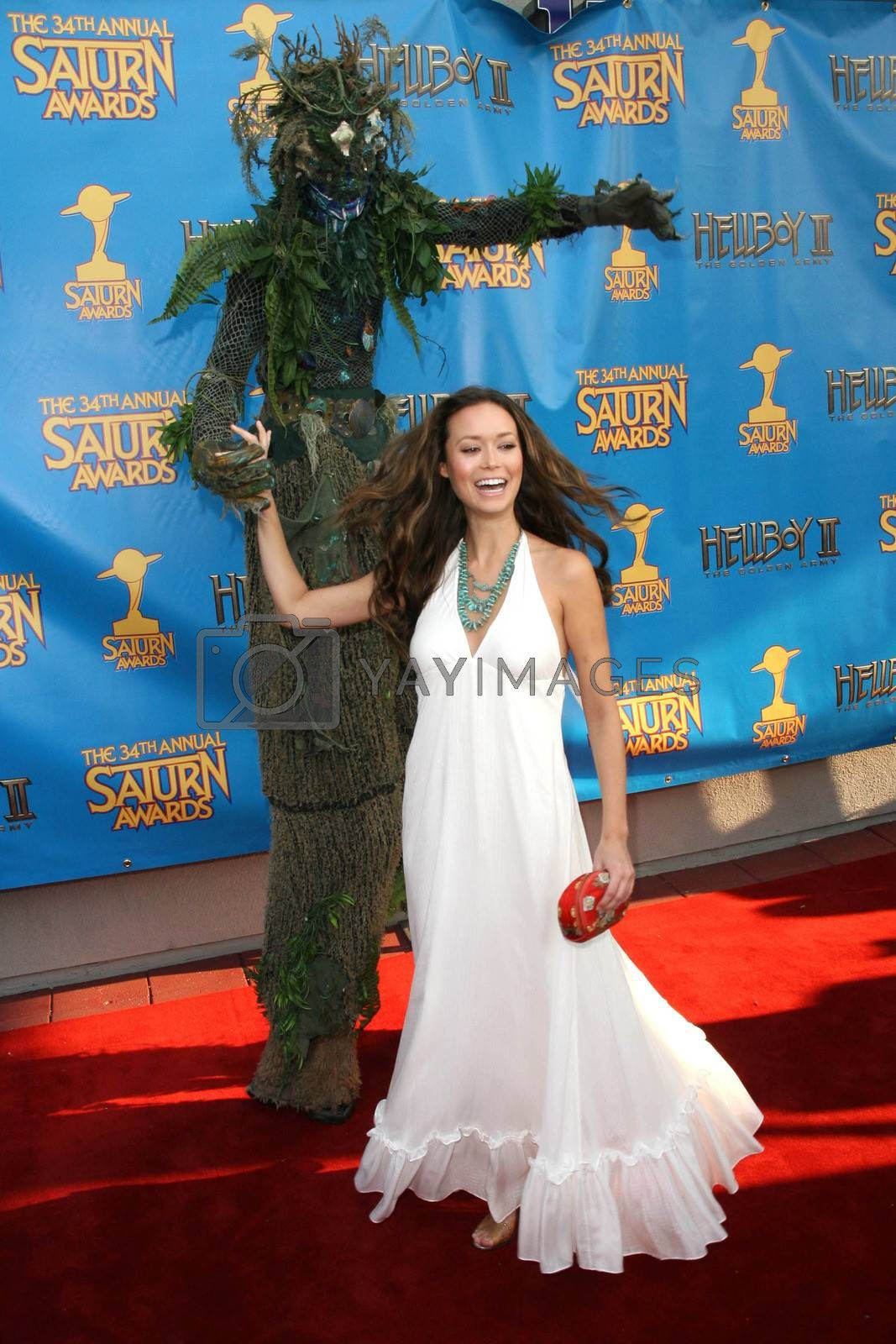 Summer Glau  at the 34th Annual Saturn Awards. Universal Hilton Hotel, Universal City, CA. 06-24-08