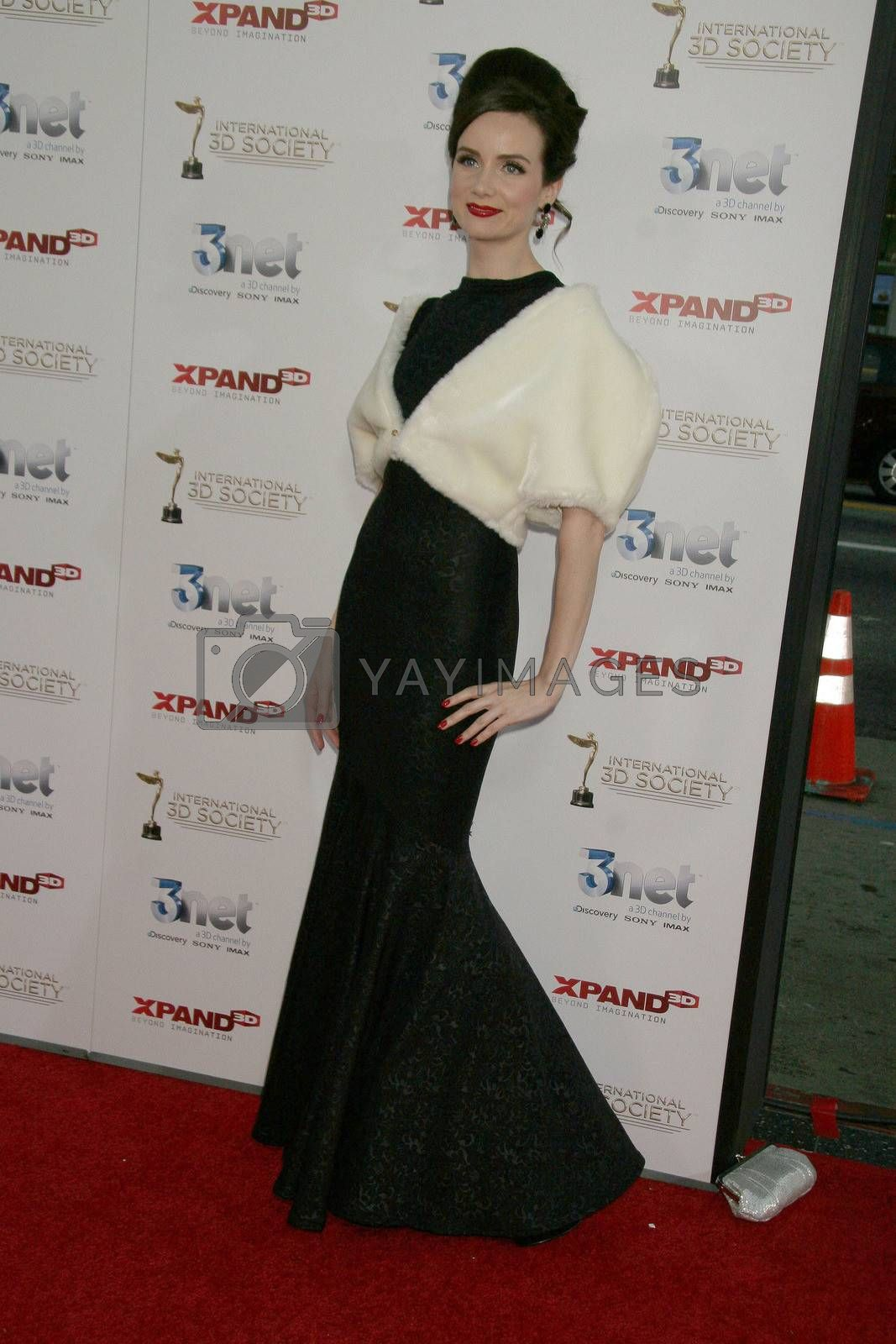 Victoria Summer  at the 2nd Annual 3D Creative Arts Awards, Chinese Theatre, Hollywood, CA. 02-09-11