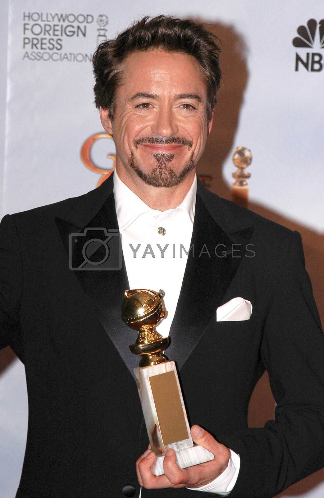 Robert Downey Jr.  at the 67th Annual Golden Globe Awards Press Room, Beverly Hilton Hotel, Beverly Hills, CA. 01-17-10