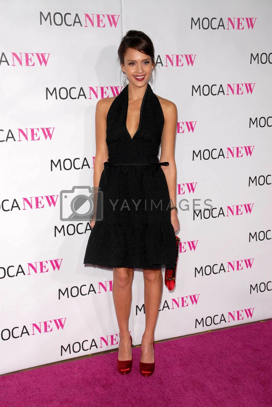 Jessica Alba  at the MOCA New 30th Anniversary Gala, MOCA Grand Avenue, Los Angeles, CA. 11-14-09