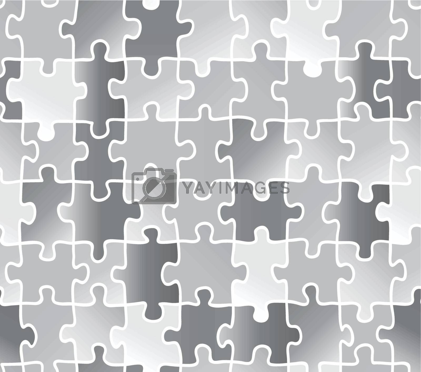 abstract texture puzzle. silver gray color. Use as a fill pattern, backdrop, seamless texture.