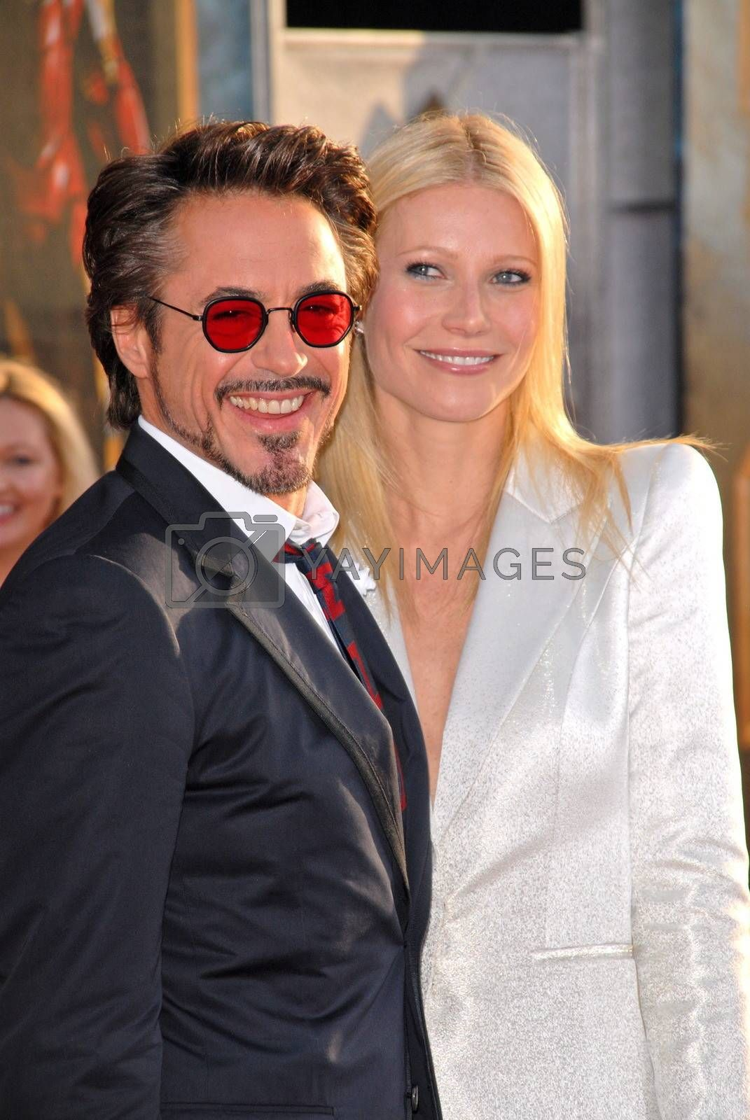 "Robert Downey Jr. and Gwyneth Paltrow  at the ""Iron Man 2"" World Premiere, El Capitan Theater, Hollywood, CA. 04-26-10"