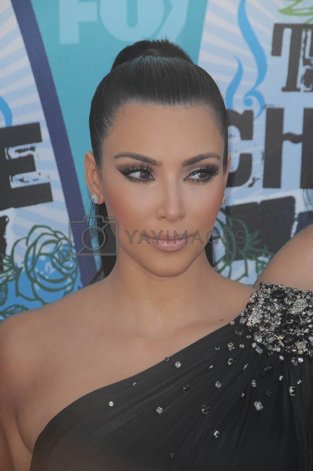 Kim Kardashian  at the 2010 Teen Choice Awards - Arrivals, Gibson Amphitheater, Universal City, CA. 08-08-10