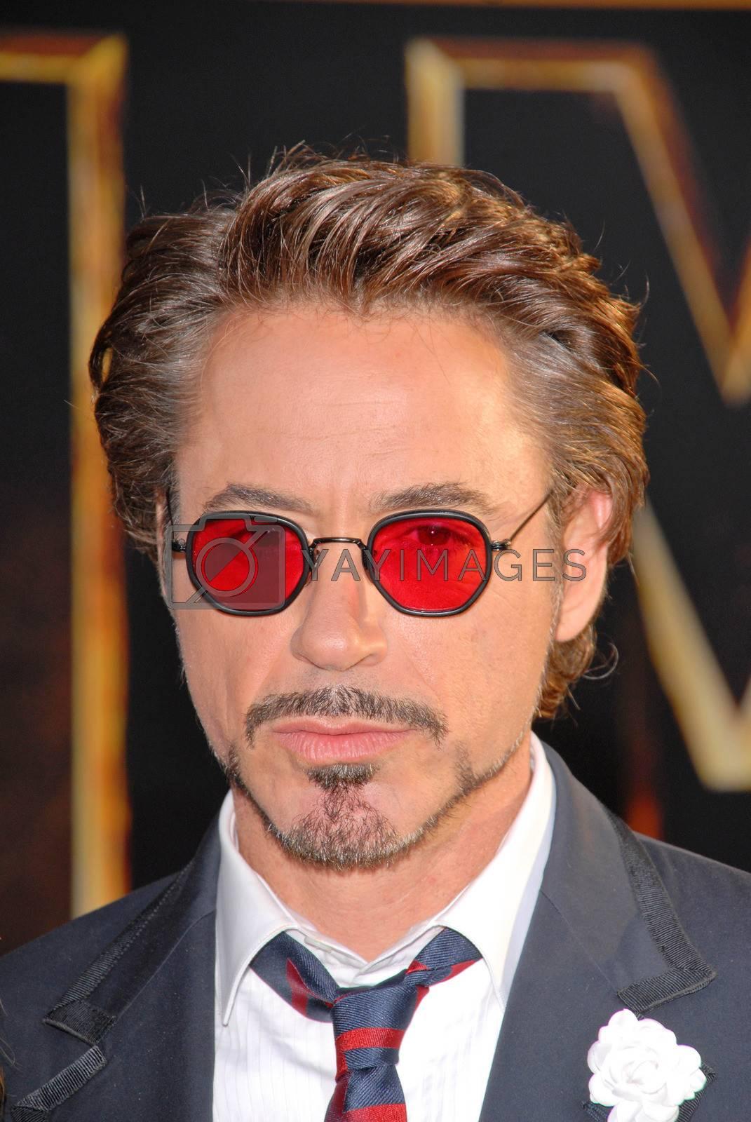"Robert Downey Jr.  at the ""Iron Man 2"" World Premiere, El Capitan Theater, Hollywood, CA. 04-26-10"
