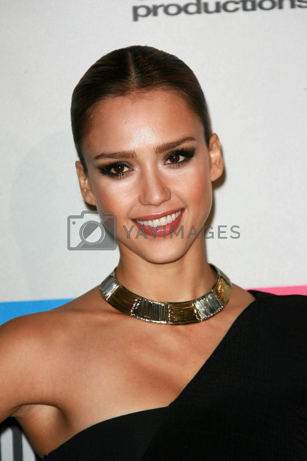 Jessica Alba  at the 2010 American Music Awards Press Room, Nokia Theater, Los Angeles, CA. 11-21-10