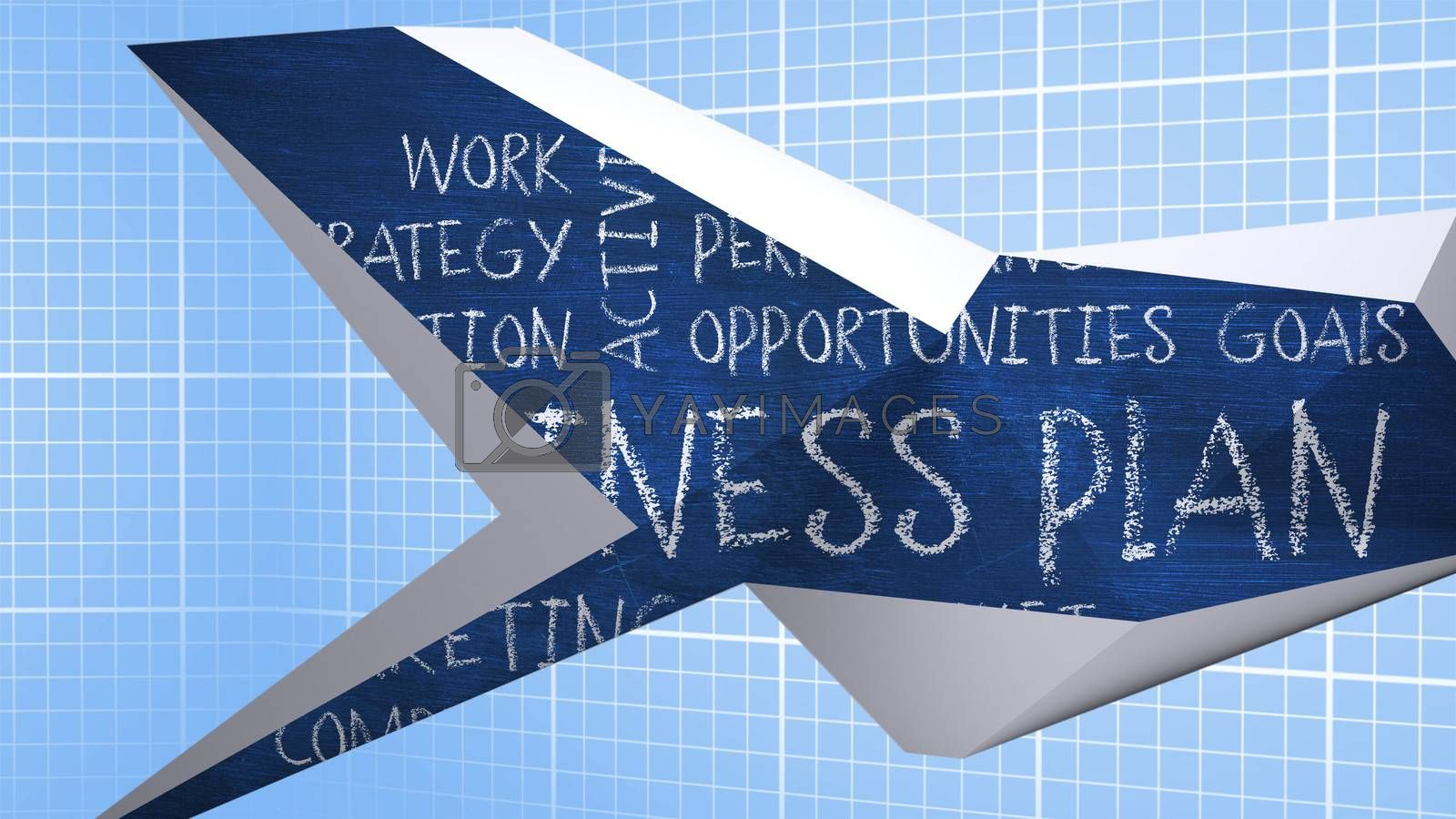 Composite image of business plan on abstract screen by Wavebreakmedia