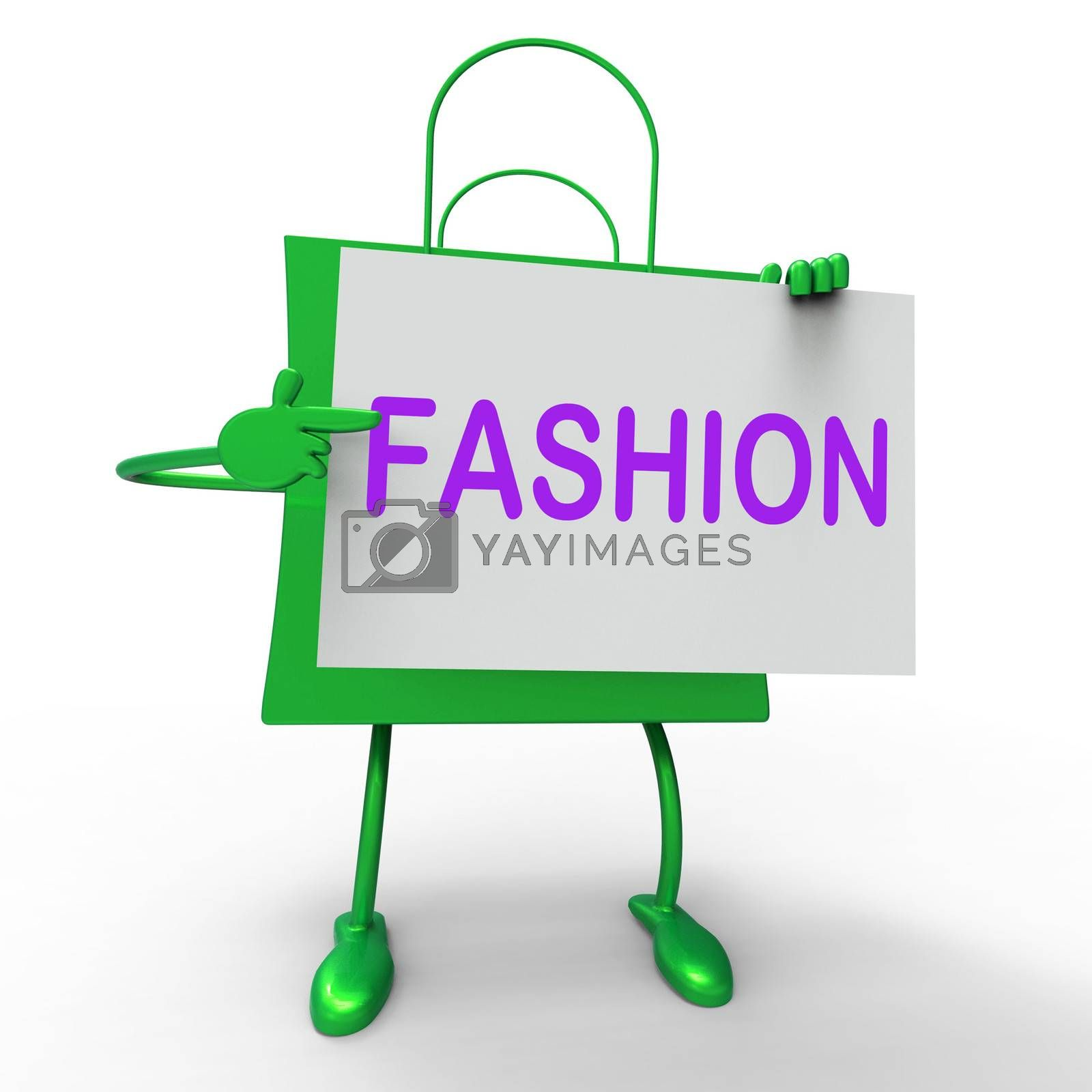 Fashion Bags Showing Fashionable and Trendy Products