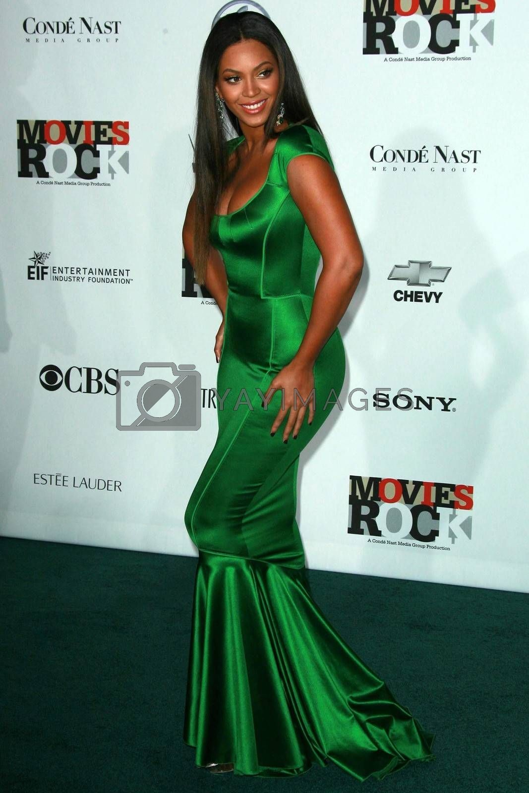 Beyonce Knowles at 'Movies Rock' A Celebration Of Music In Film, Kodak Theatre, Hollywood, CA. 12-02-07