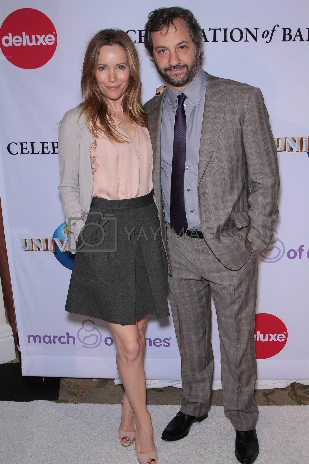 Leslie Mann, Judd Apatow at the March Of Dimes' 6th Annual Celebration Of Babies Luncheon, Beverly Hills Hotel, Beverly Hills, CA 12-02-11