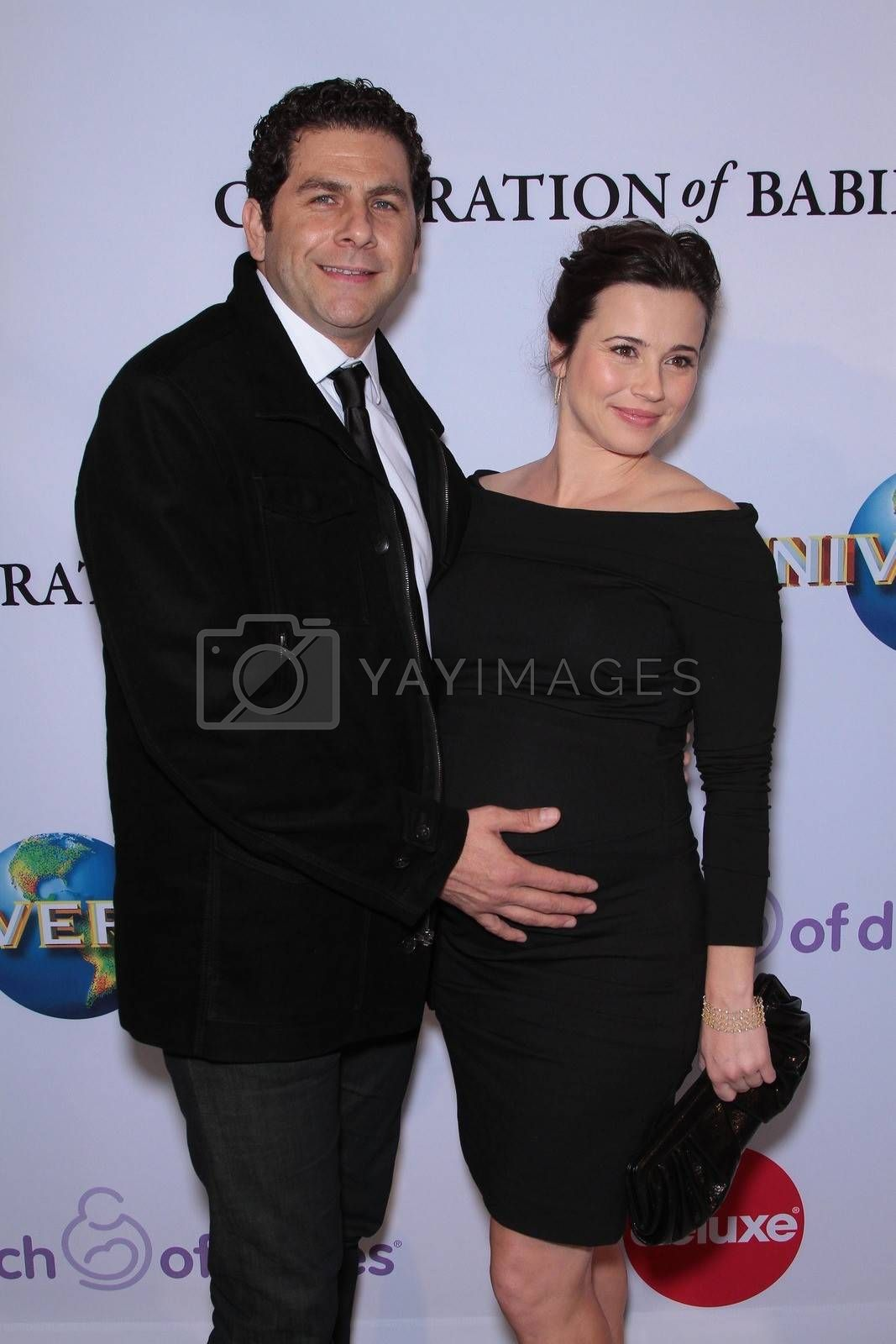 Steven Rodriguez and Linda Cardellini at the March Of Dimes' 6th Annual Celebration Of Babies Luncheon, Beverly Hills Hotel, Beverly Hills, CA 12-02-11