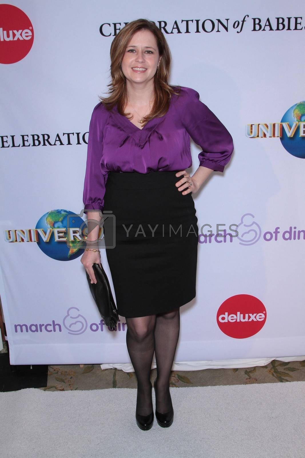 Jenna Fisher at the March Of Dimes' 6th Annual Celebration Of Babies Luncheon, Beverly Hills Hotel, Beverly Hills, CA 12-02-11