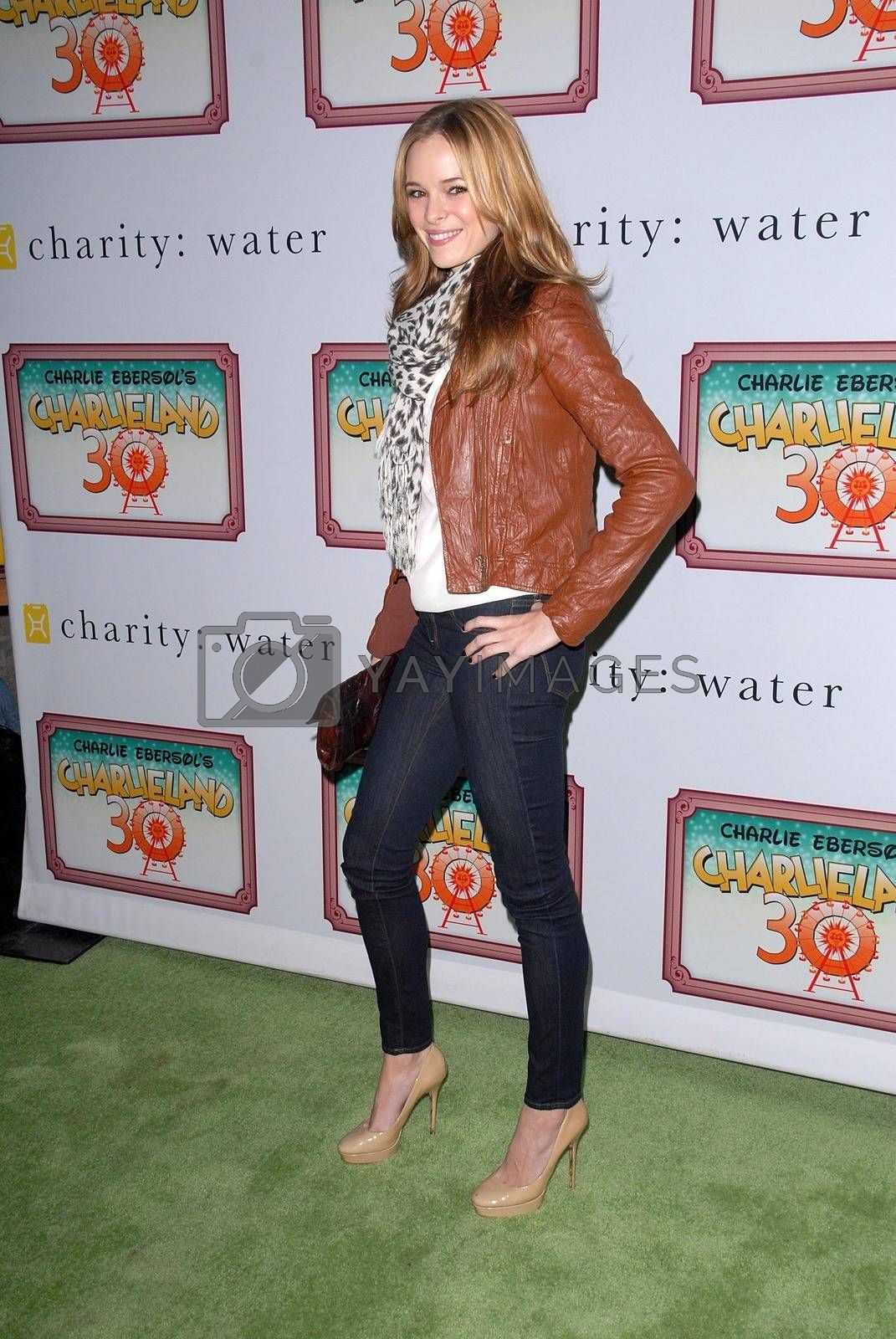 Danielle Panabaker at Charlieland, celebrating Charlie Ebersol's 30th Birthday and benefitting Charity:Water, Private Location, Beverly Hills, CA 12-08-12/ImageCollect by ImageCollect
