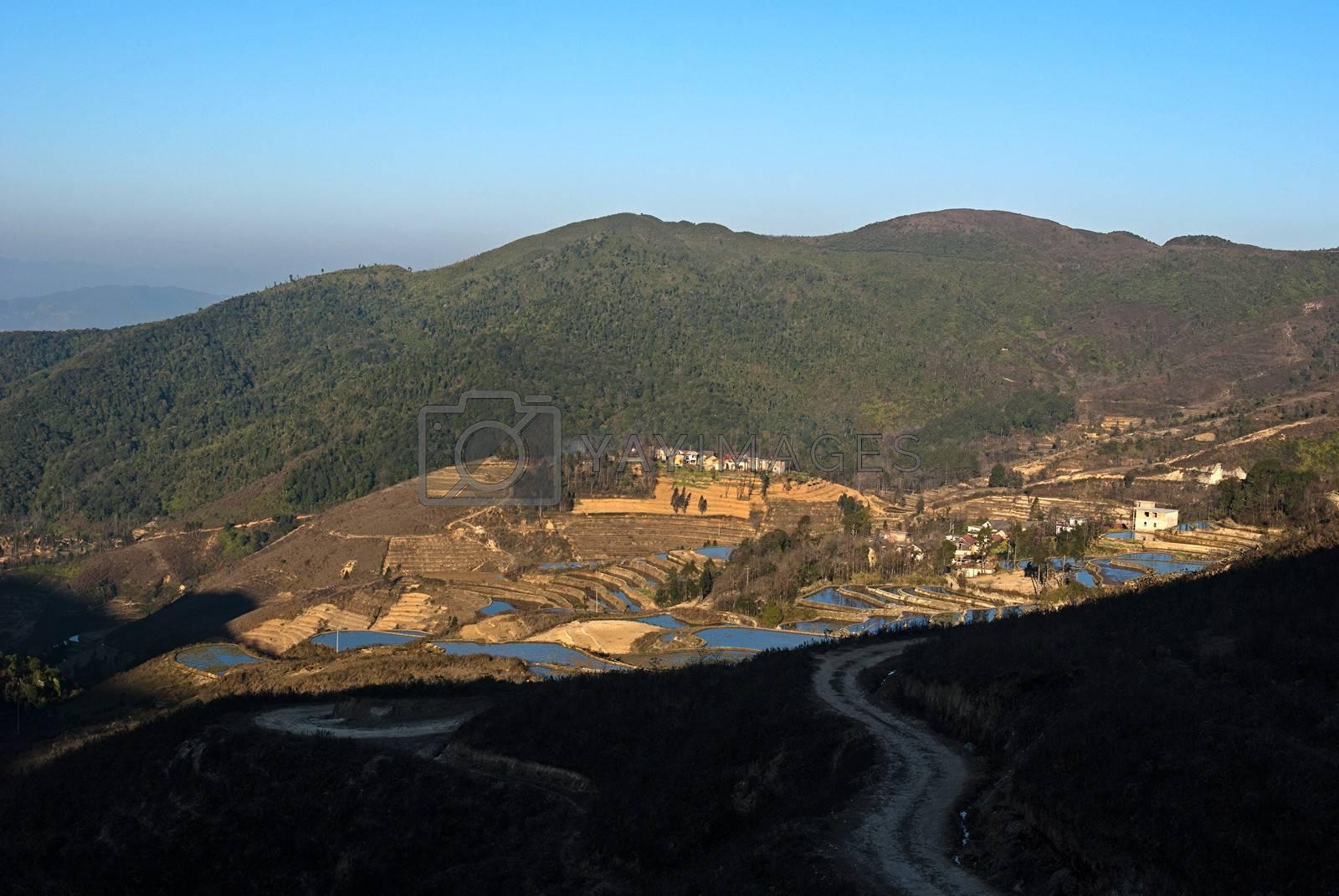 Taken in Yuanyang County, Yunnan Province, China        Taken in YuShan County,Jingxi Province, China