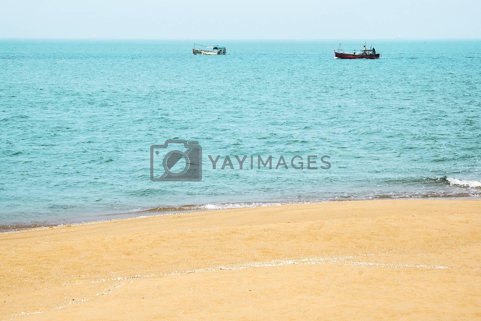 China's Hainan Island tropical coastal scenery by xfdly5