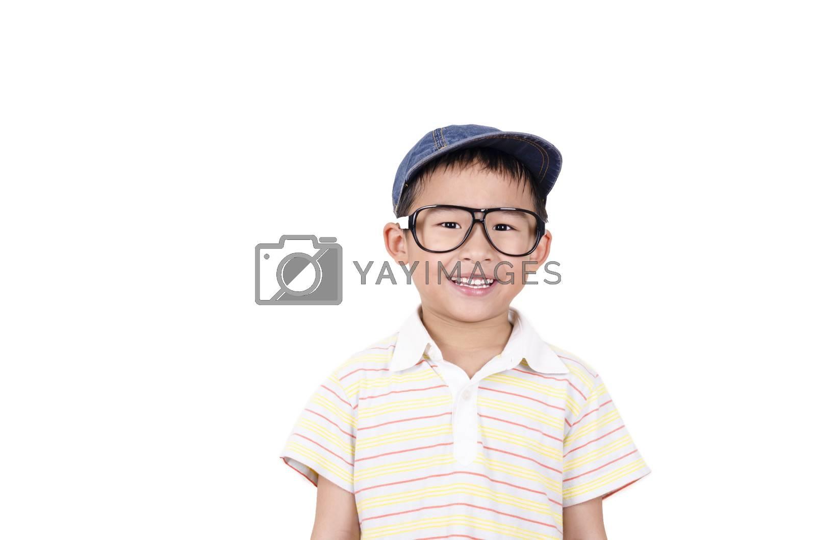 Royalty free image of Cute boy smiling by FrankyLiu