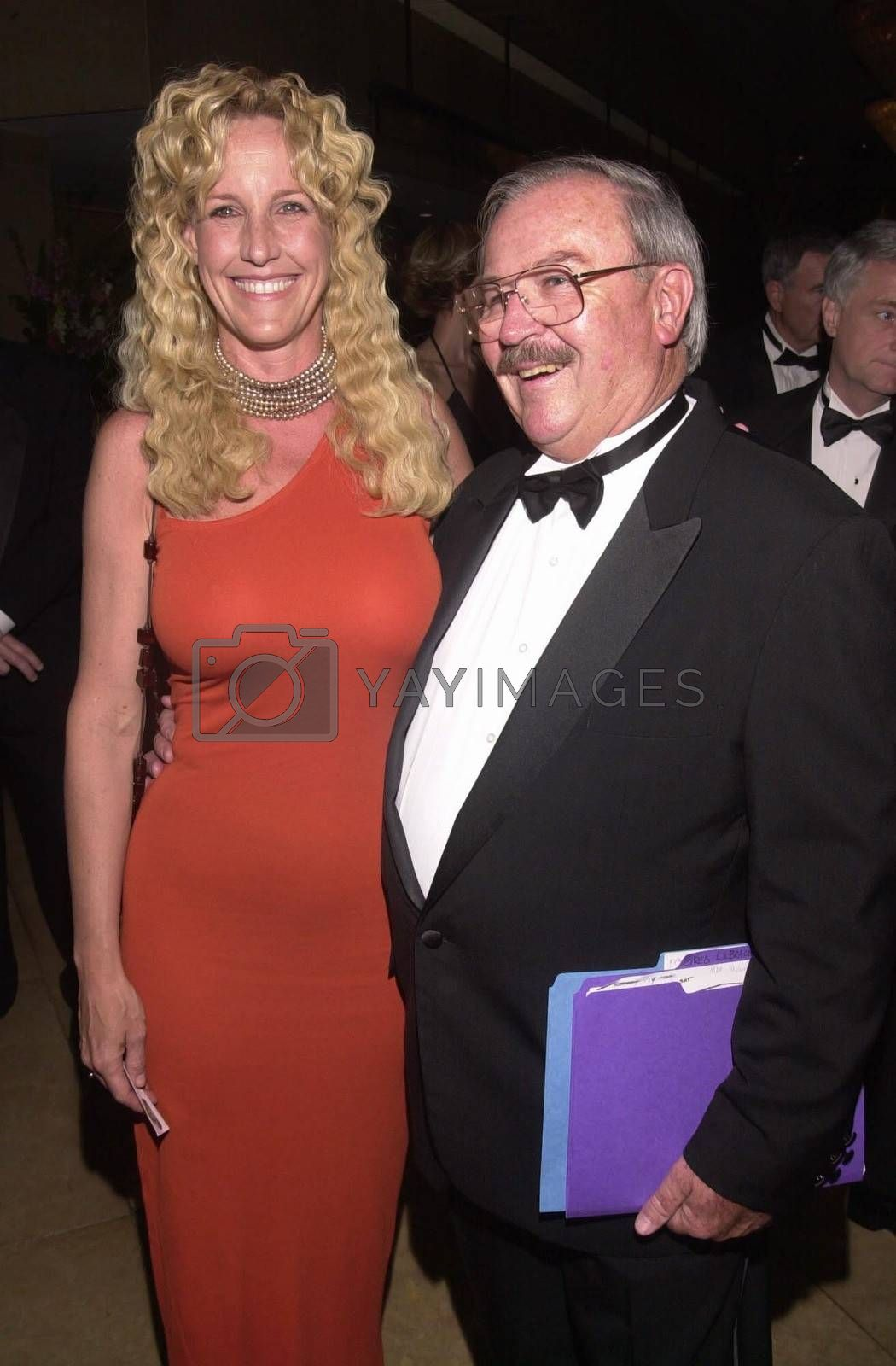 Erin Brockovich-Ellis and Gregory Labrache at the Night Under The Stars Dinner-Dance to raise money for MS. Beverly Hills, 04-29-00