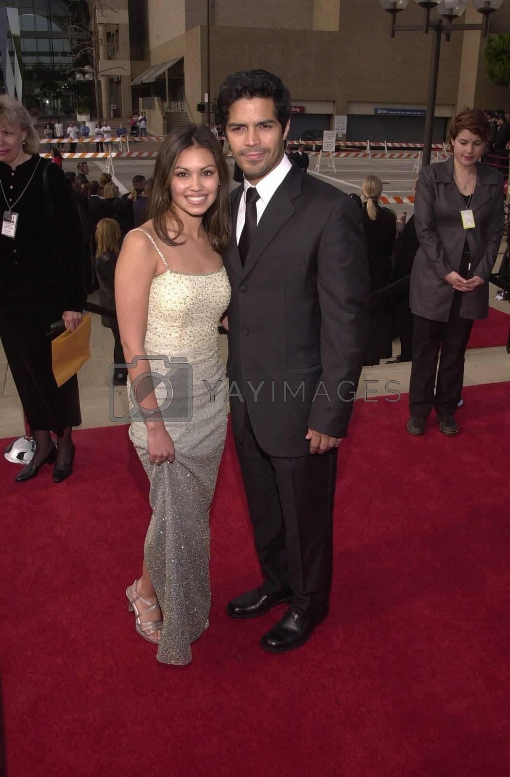 Esai Morales and date at the 2000 Alma Awards, in Pasadena, 04-16-00