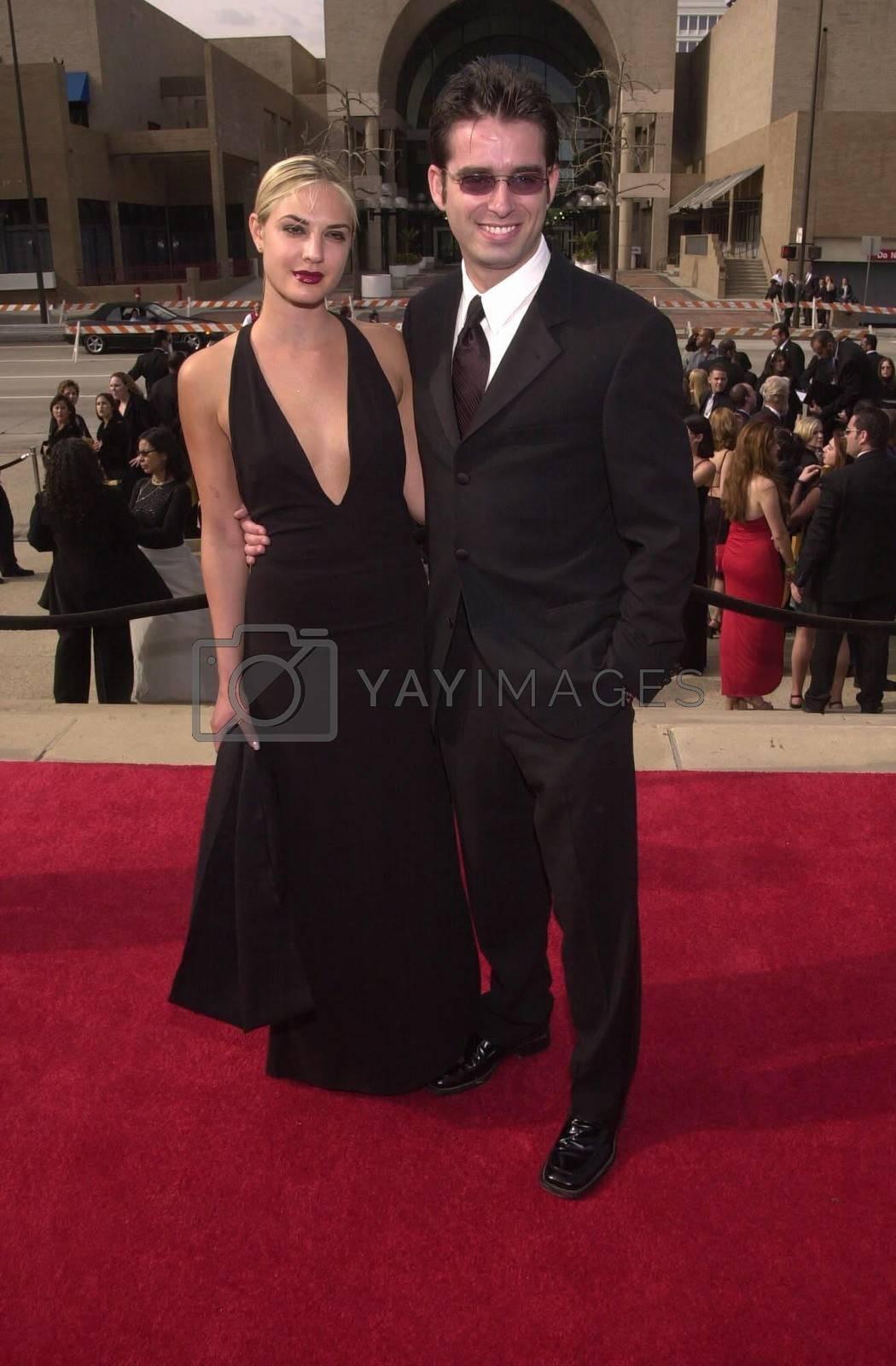Bruno Campos and wife Carina at the 2000 Alma Awards, in Pasadena, 04-16-00