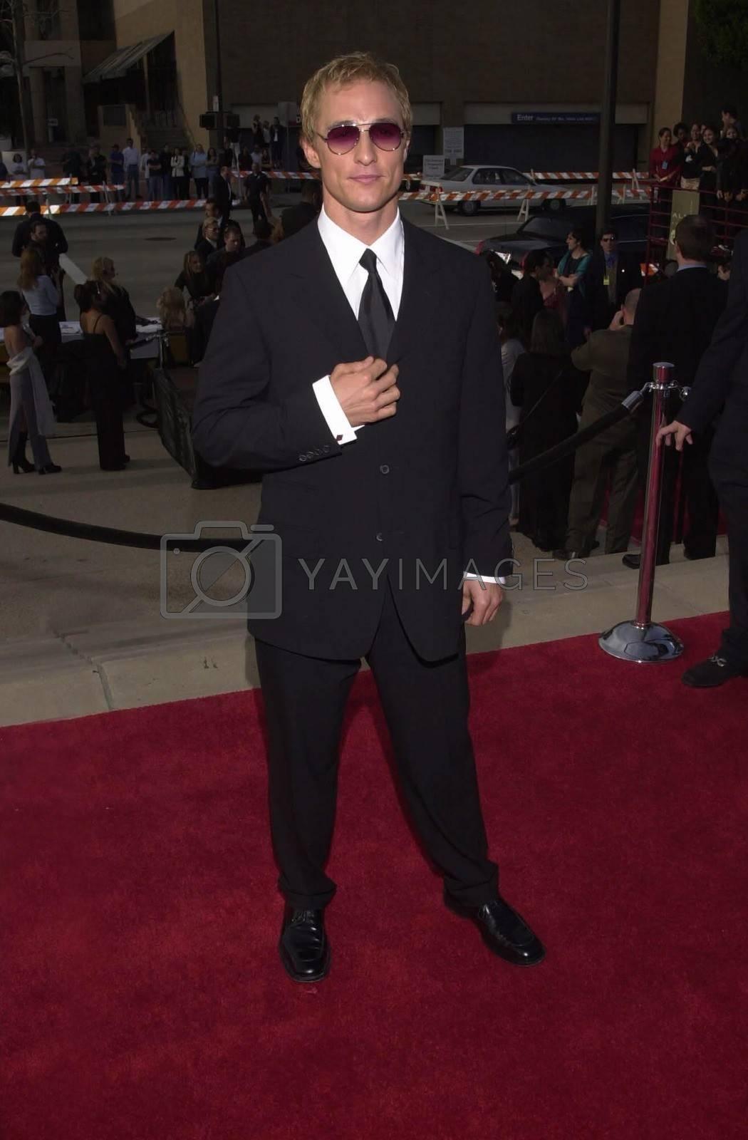 Matthew McConaughey at the 2000 Alma Awards, in Pasadena, 04-16-00