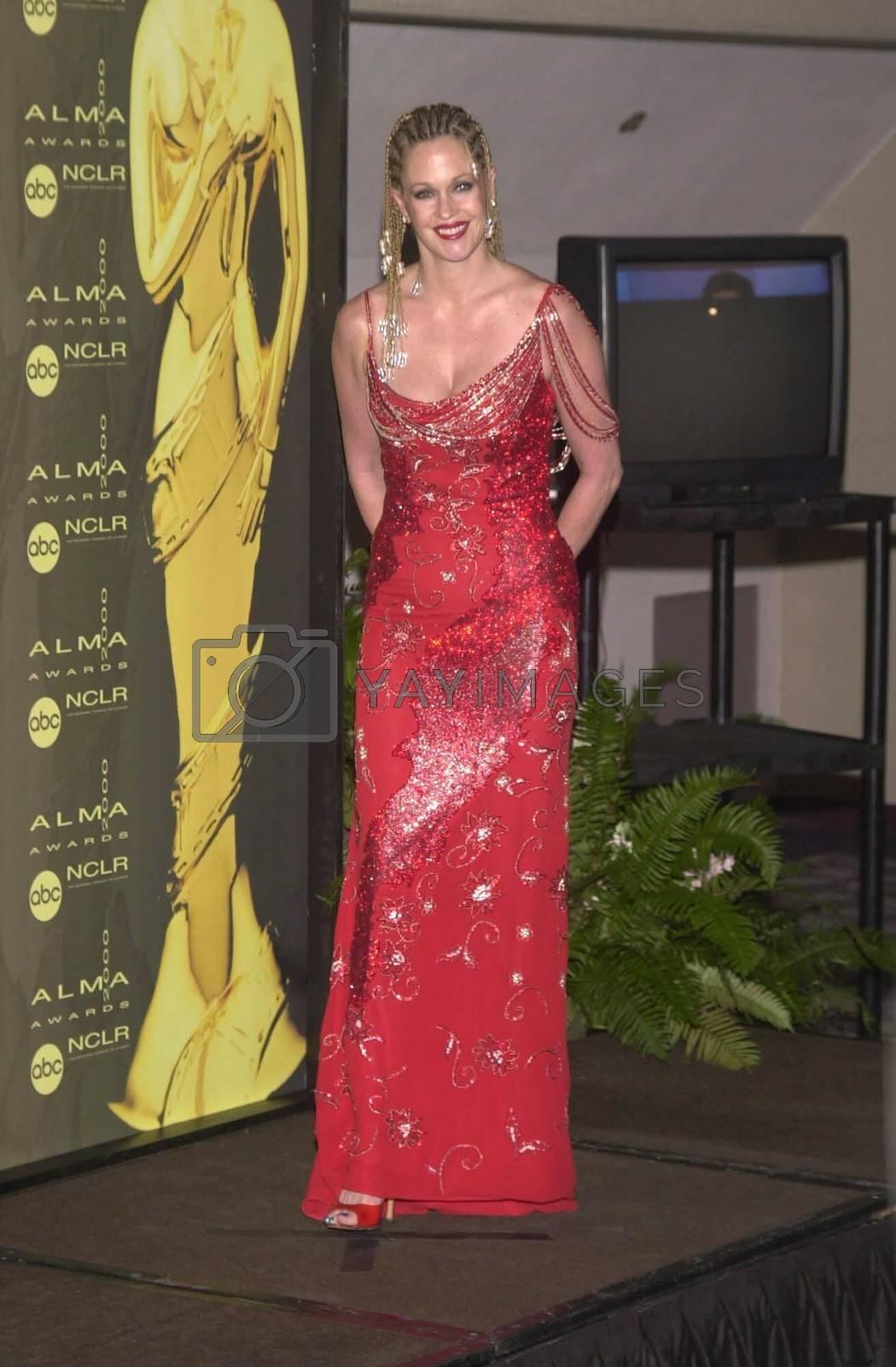 Melanie Griffith at the 2000 Alma Awards, in Pasadena, 04-16-00