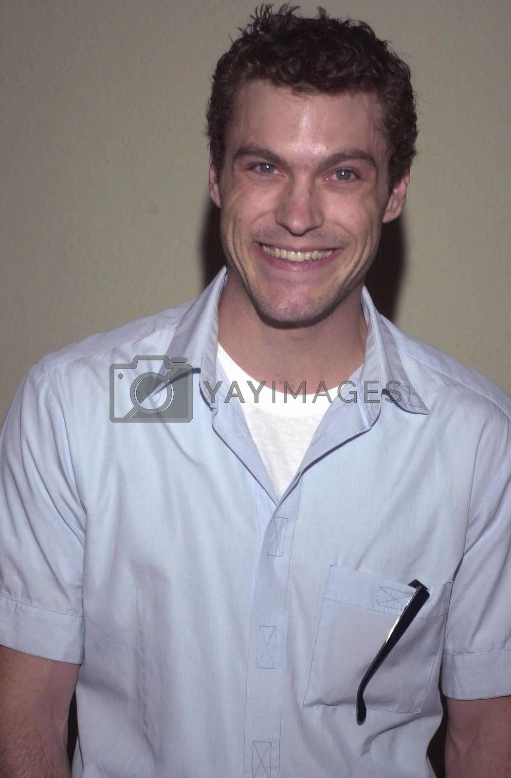 """Brian Austin Green at the """"Beverly Hills 90210"""" series wrap party in Hollywood, 04-04-00"""