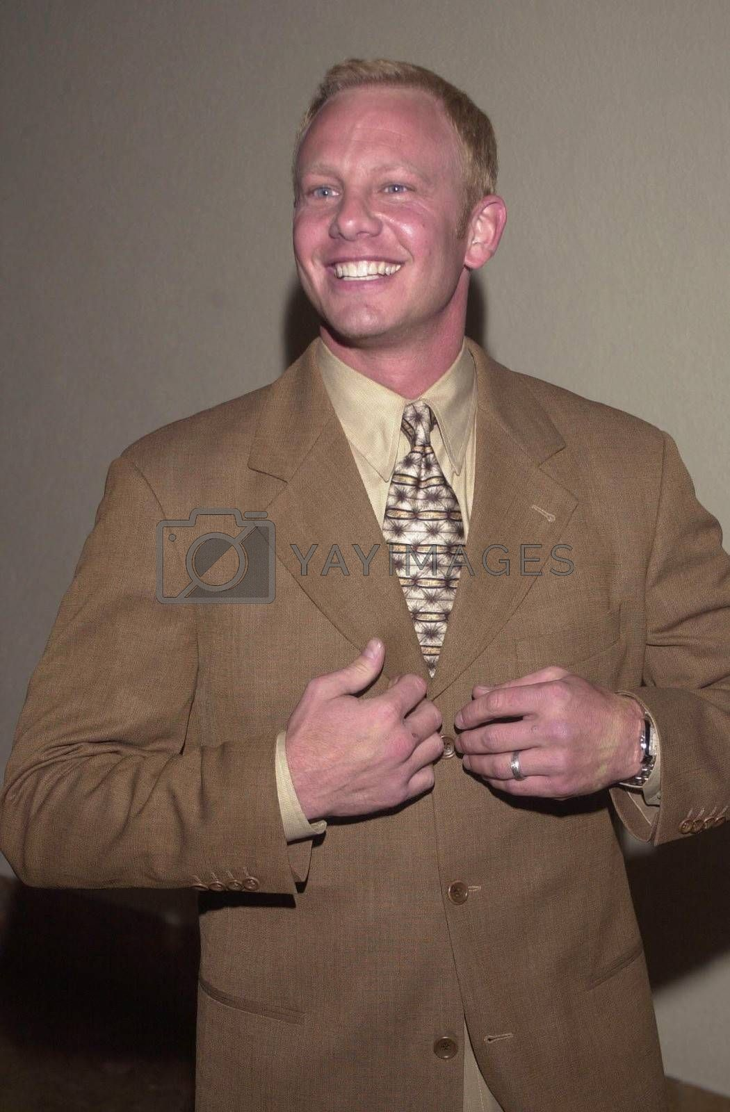 """Ian Ziering at the """"Beverly Hills 90210"""" series wrap party in Hollywood, 04-04-00"""