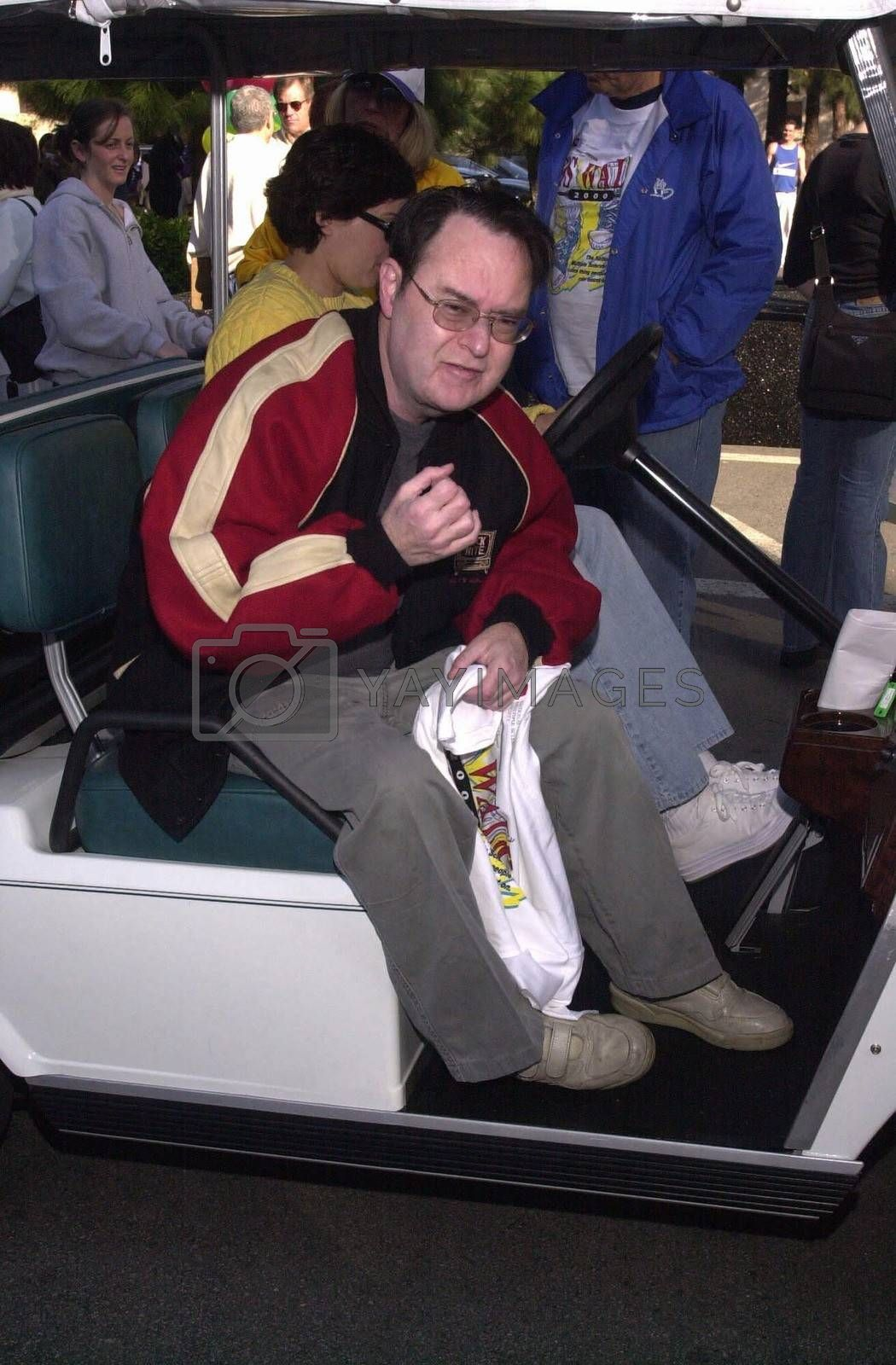 """David L. Lander at the MS Walk 2000, where the cast of """"Laverne and Shirley"""" reunited. Burbank, 04-09-00"""