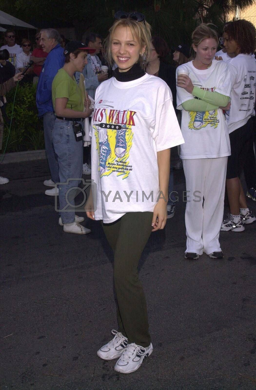 """Marnette Patterson at the MS Walk 2000, where the cast of """"Laverne and Shirley"""" reunited. Burbank, 04-09-00"""