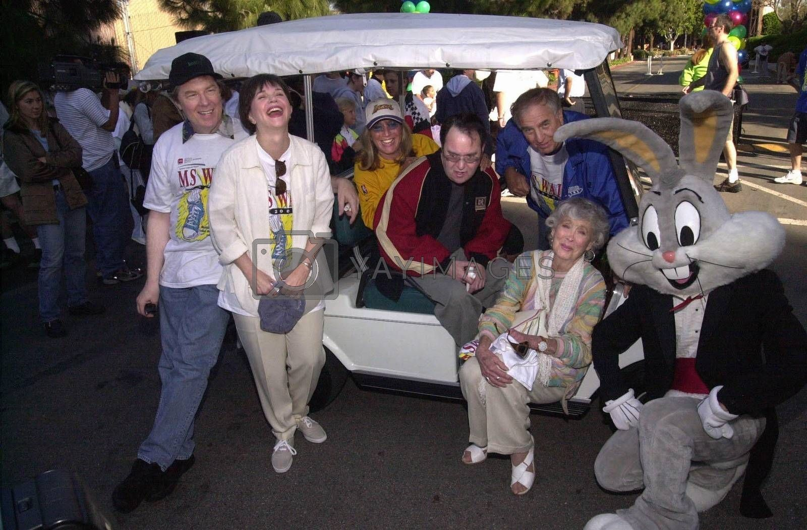 """Cast of Laverne and Shirley at the MS Walk 2000, where the cast of """"Laverne and Shirley"""" reunited. Burbank, 04-09-00"""
