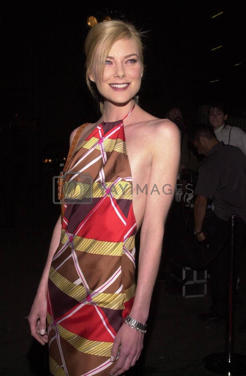 """Paula Devicq at the """"Party Of Five"""" series wrap party, Hollywood, 04-06-00"""