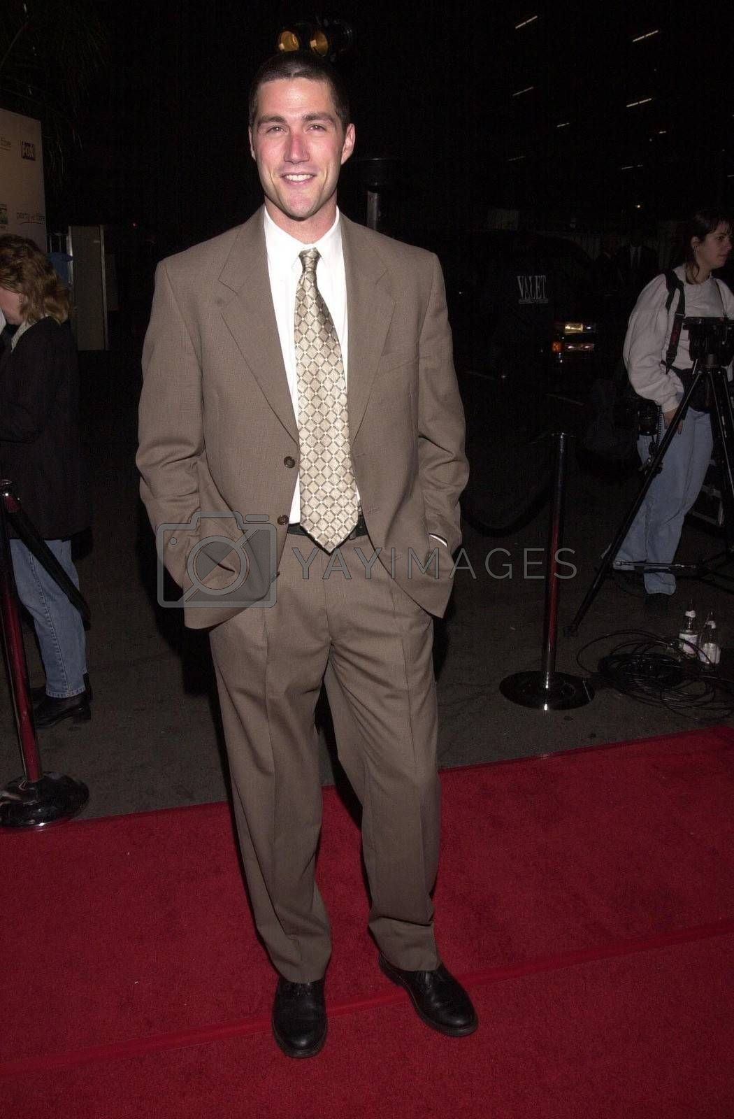 """Matthew Fox at the """"Party Of Five"""" series wrap party, Hollywood, 04-06-00"""