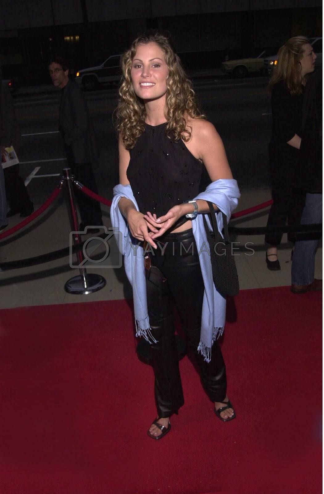 """Tracy Hutson at the premiere of Showtime's """"RATED X"""" in Hollywood, 04-27-00"""