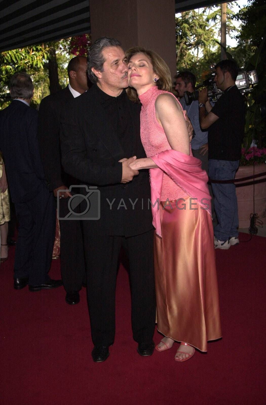 Edward James Almos and Merel Julia at the 4th Annual Raul Julia Ending Hunger Fund Benefit, Beverly Hills, 04-30-00