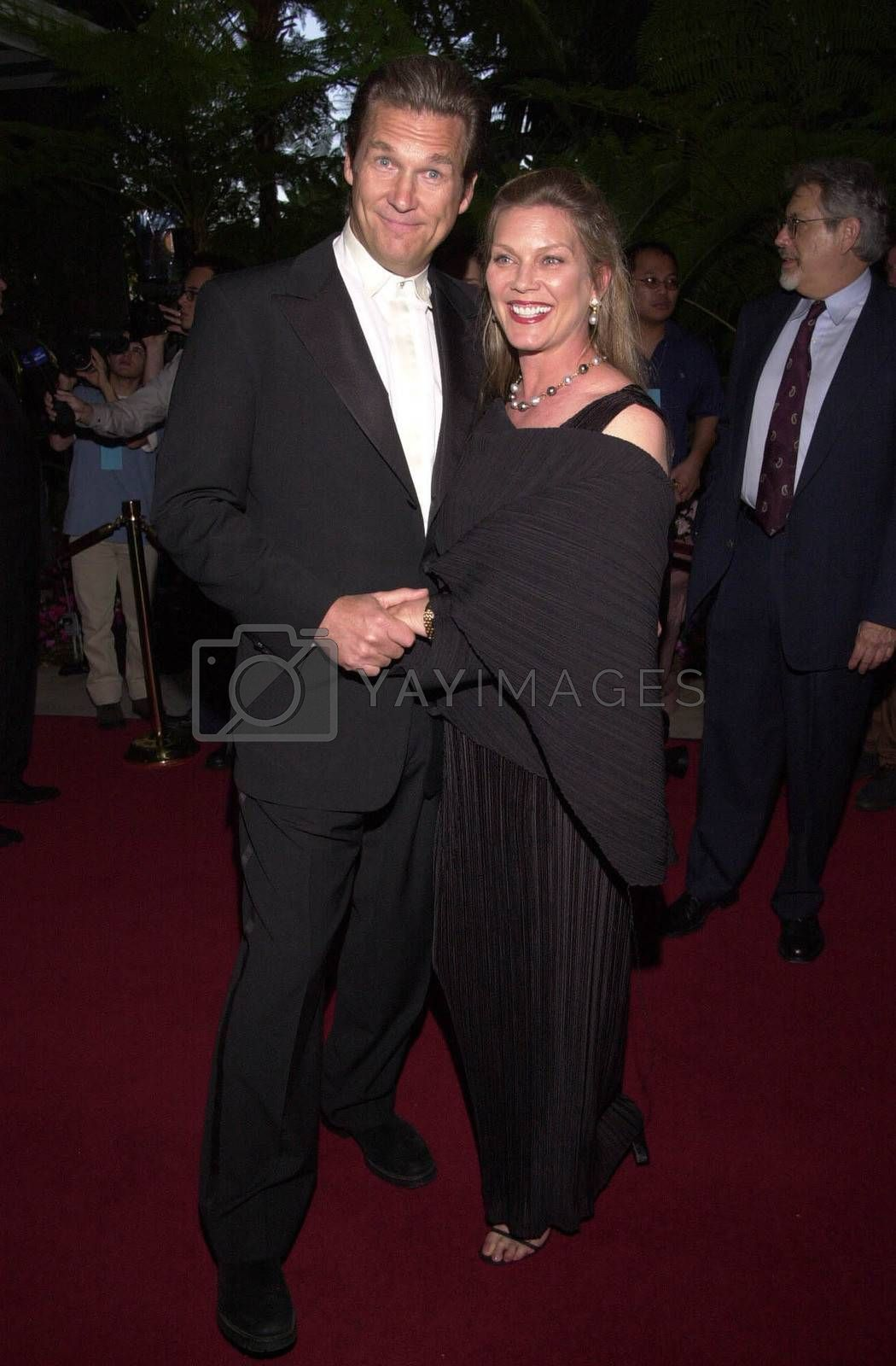 Jeff and Susan Bridges at the 4th Annual Raul Julia Ending Hunger Fund Benefit, Beverly Hills, 04-30-00