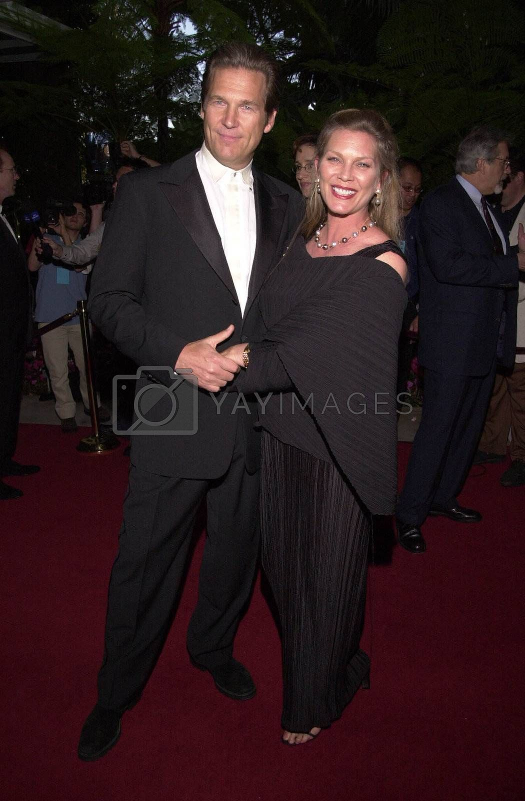 Jeff Bridges and wife Susan at the 4th Annual Raul Julia Ending Hunger Fund Benefit, Beverly Hills, 04-30-00