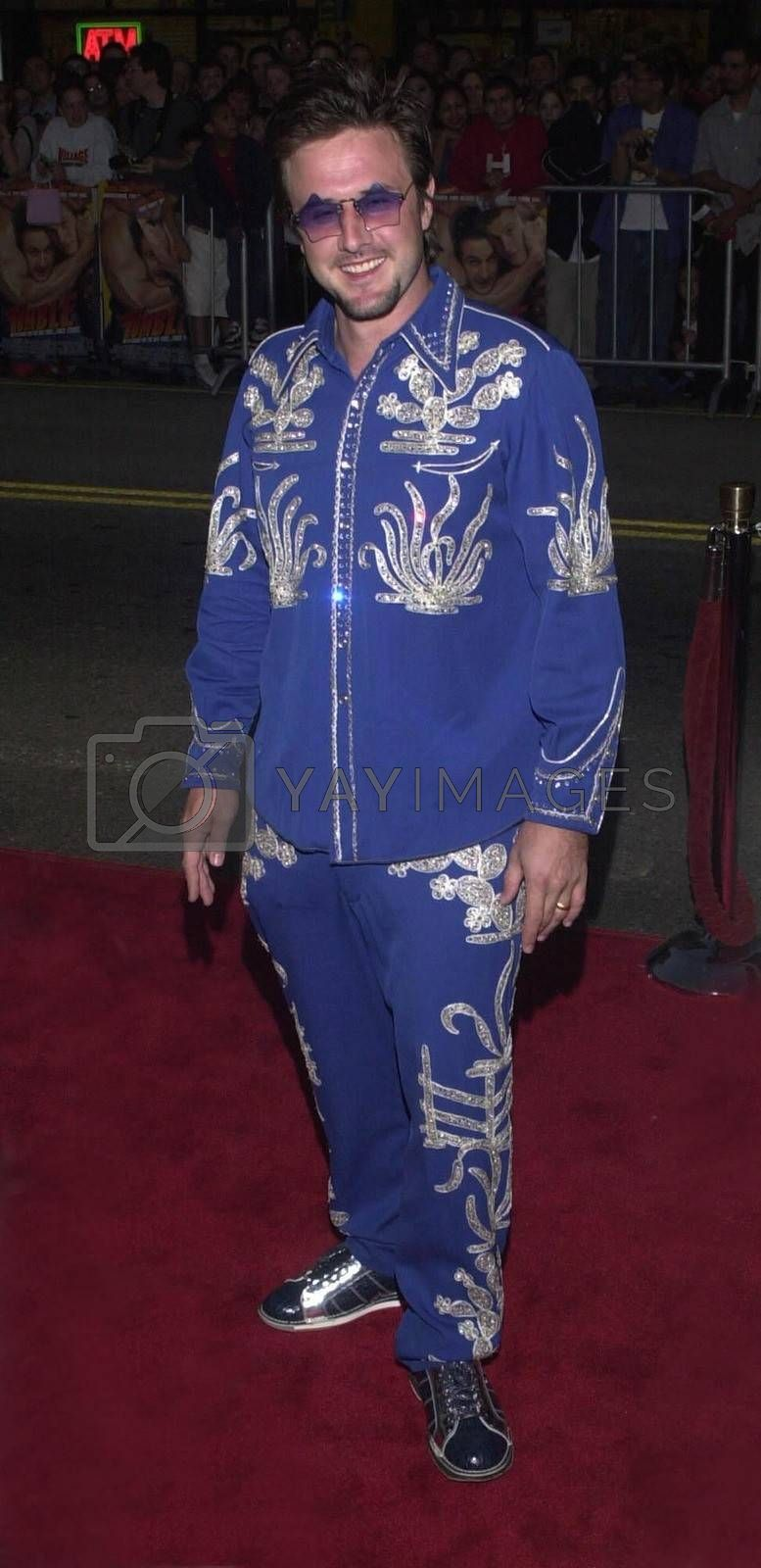 """David Arquette at the premiere of Warner Brother's """"READY TO RUMBLE"""" in Hollywood, 04-05-00"""