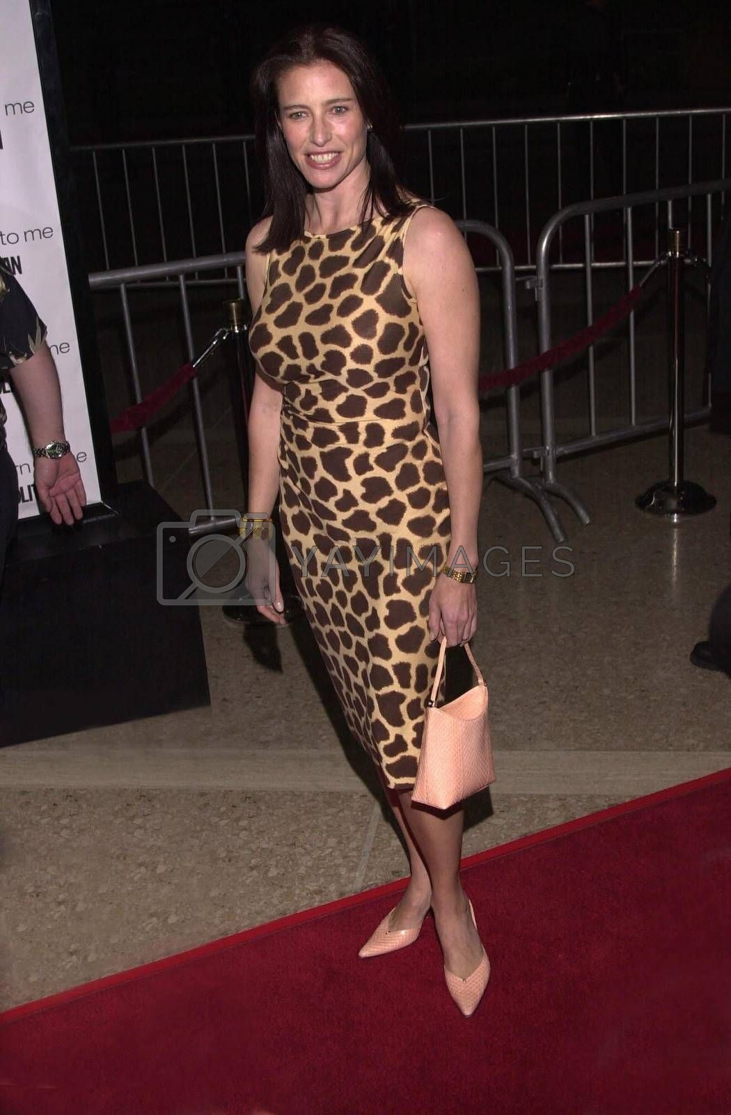 """Mimi Rogers at the premiere of MGM's """"RETURN TO ME"""" in Century City, 04-03-00"""