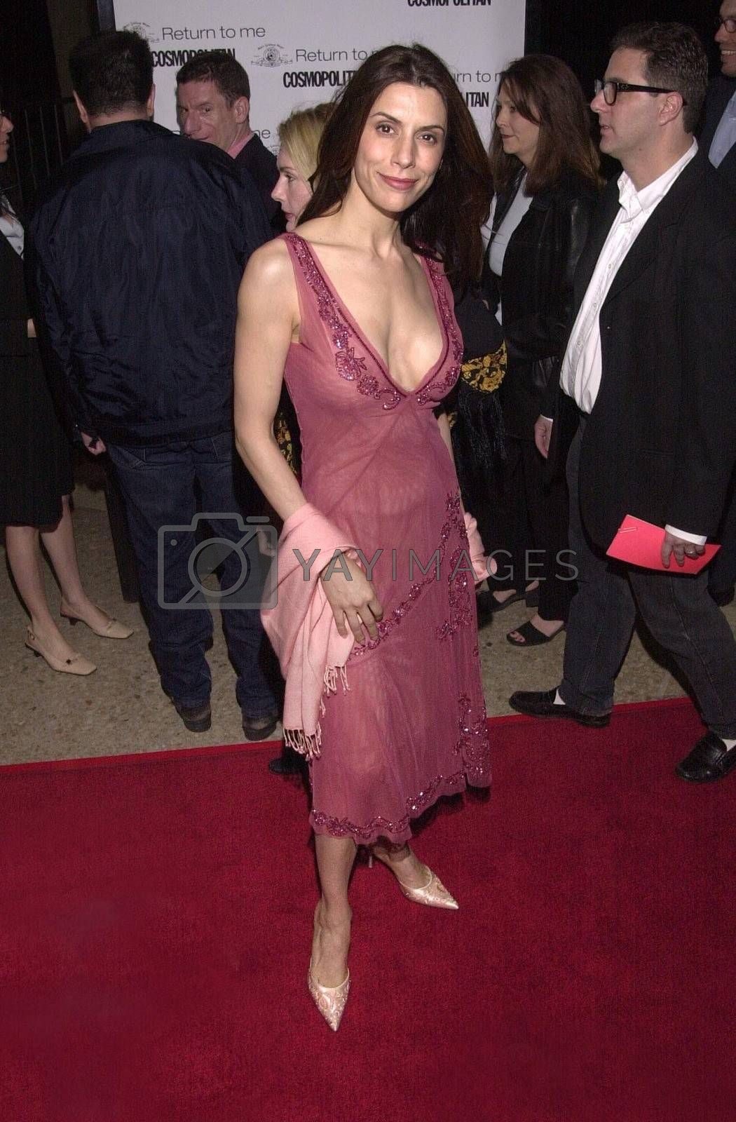 """Jo Champa at the premiere of MGM's """"RETURN TO ME"""" in Century City, 04-03-00"""