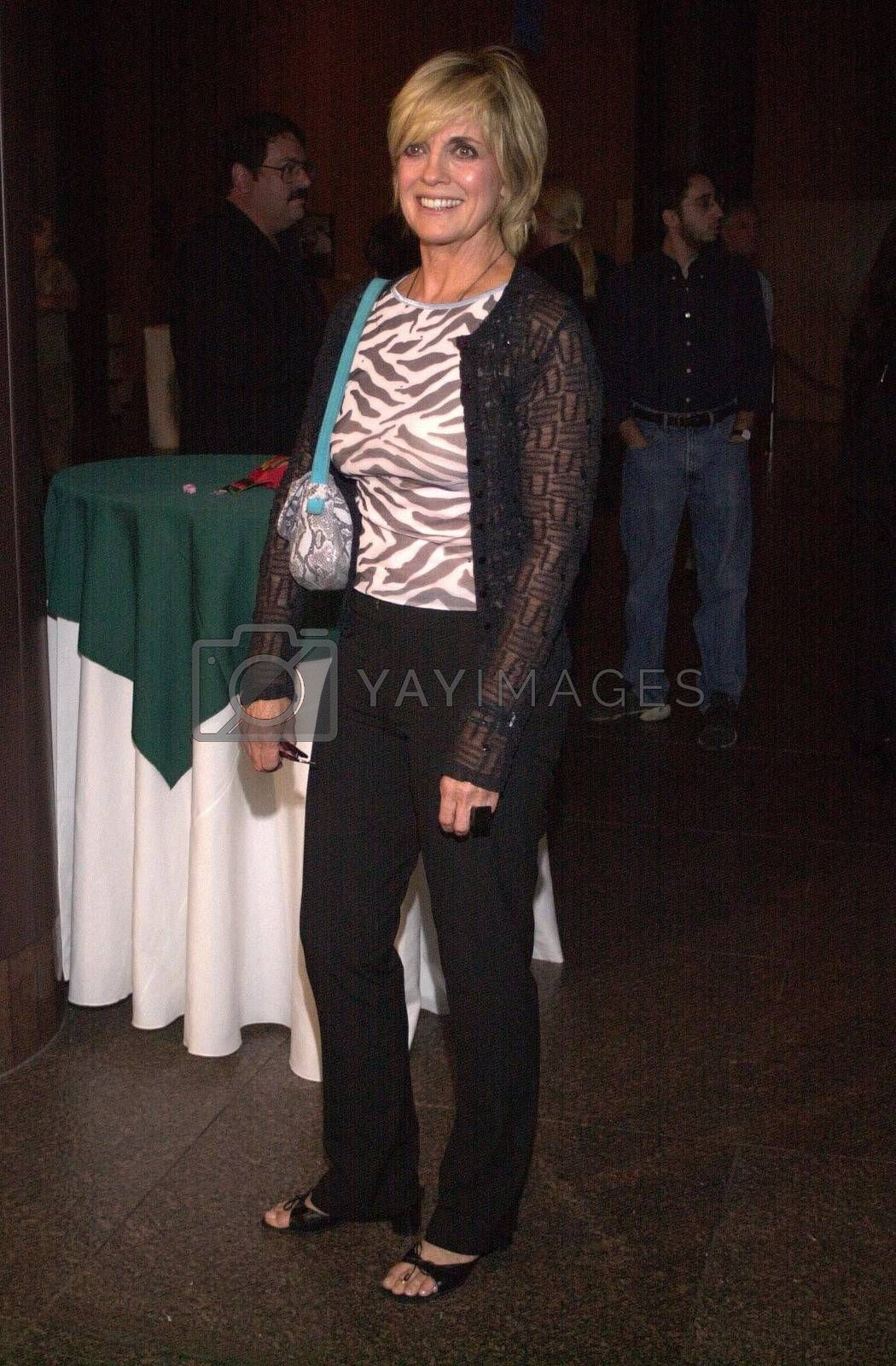 Linda Gray at the premiere of Very mean Men in Beverly Hills. 08-15-00