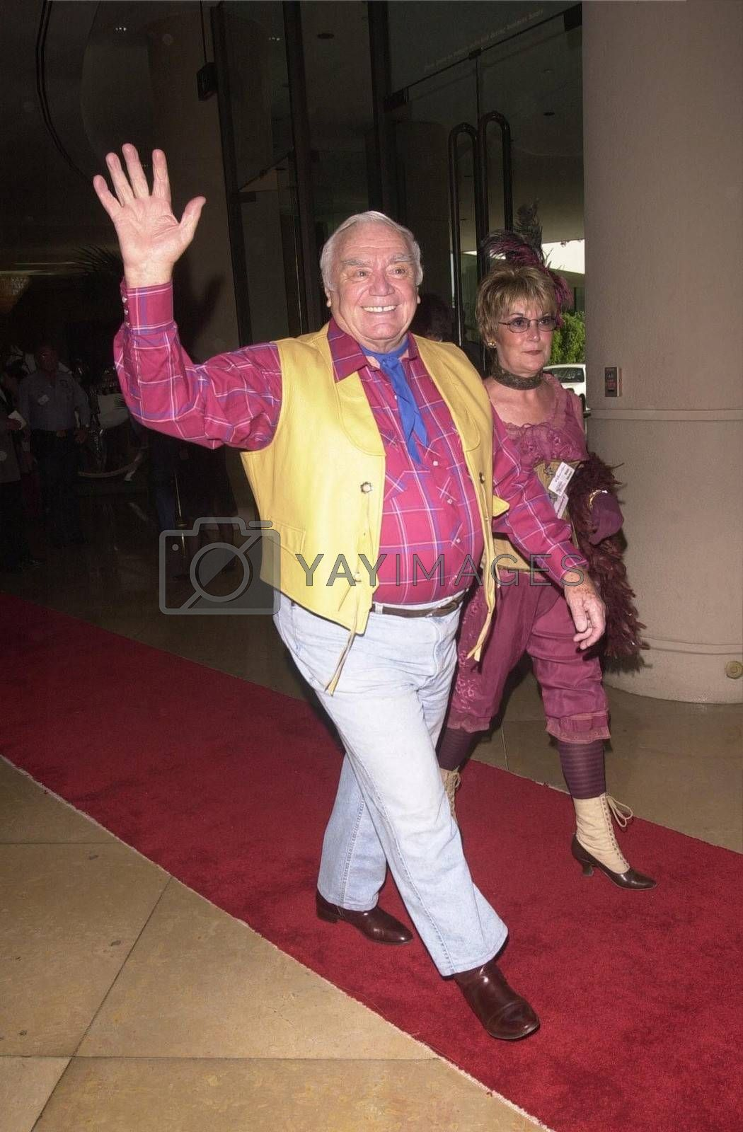Ernest Bornine at the Golden Boot Awards for Westerns on Film & Television in Beverly Hills. 08-05-00