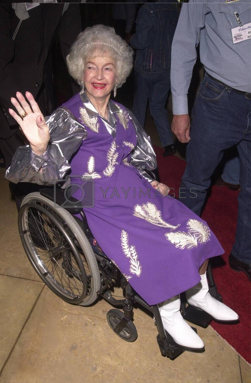 Dale Evans at the Golden Boot Awards for Westerns on Film & Television in Beverly Hills. 08-05-00