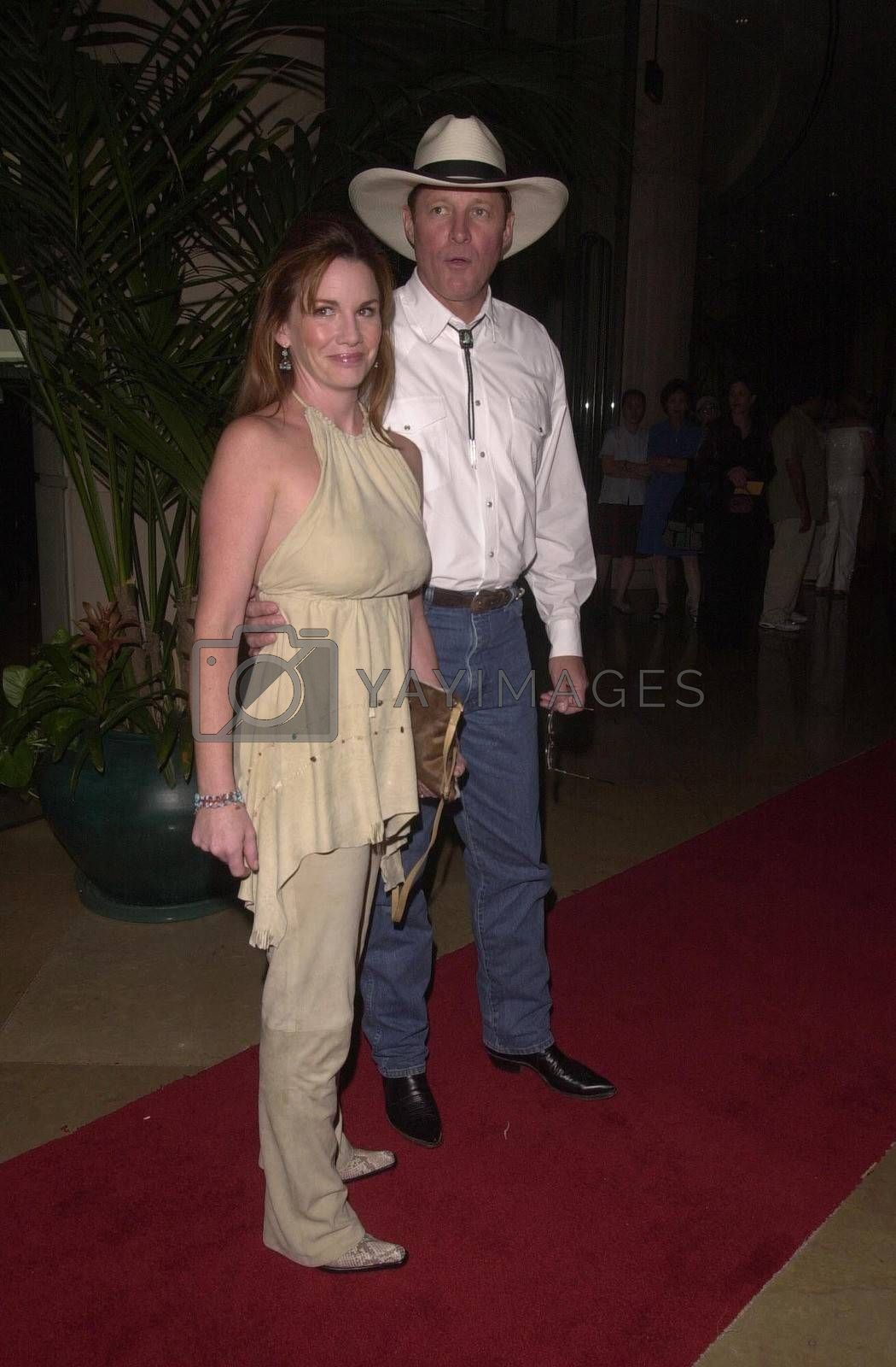 Melissa Gilbert and Bruce Boxleitner at the Golden Boot Awards for Westerns on Film & Television in Beverly Hills. 08-05-00