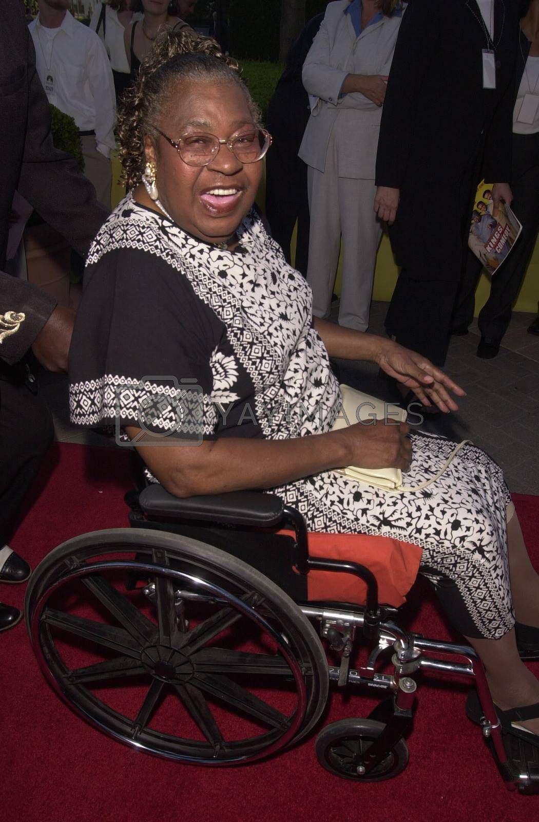 """Lawanda Page at the premiere of """"Original Kings of Comedy"""" in Hollywood. 08-10-00"""