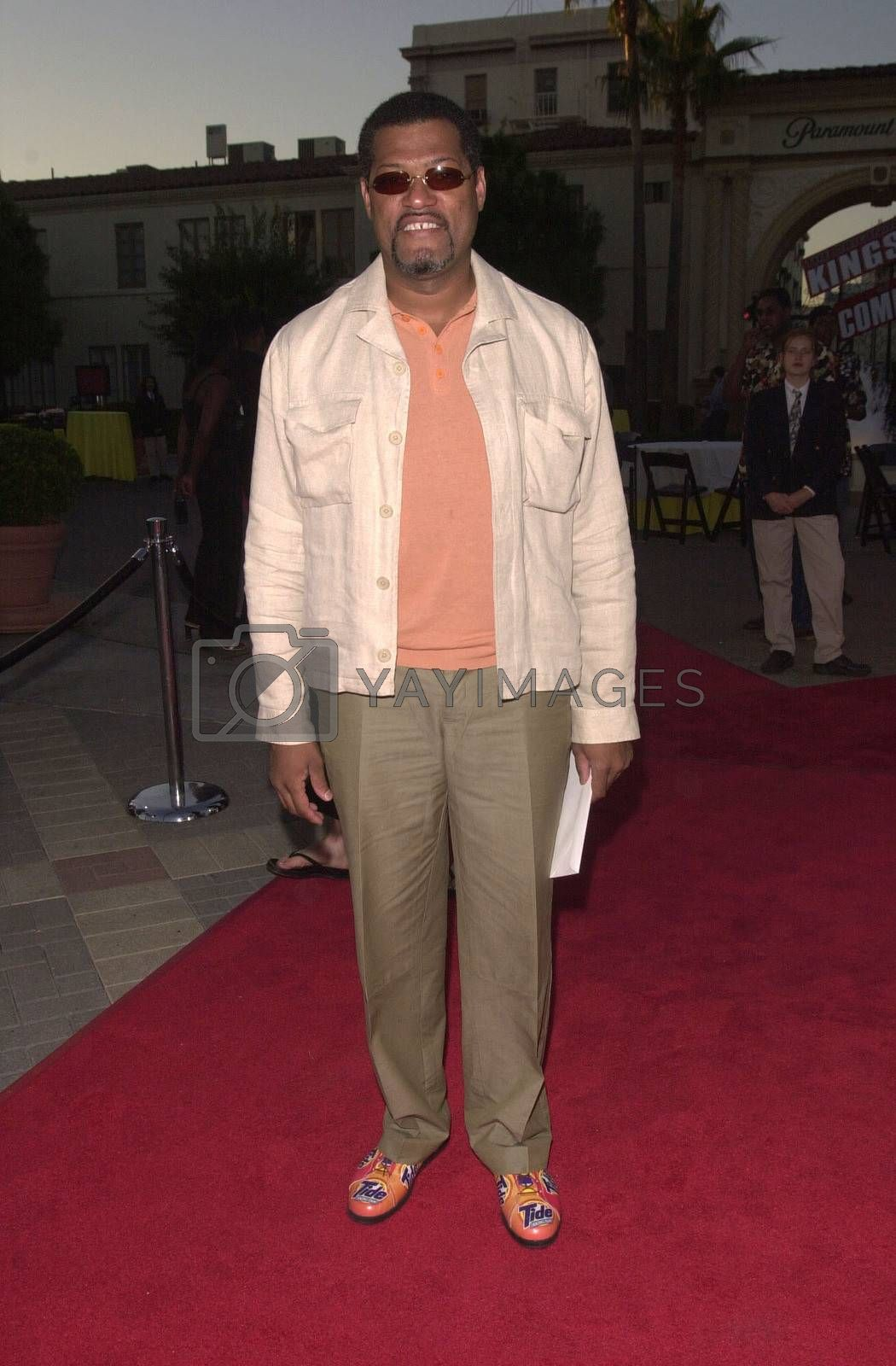 """Lawrence Fishburn at the premiere of """"Original Kings of Comedy"""" in Hollywood. 08-10-00"""