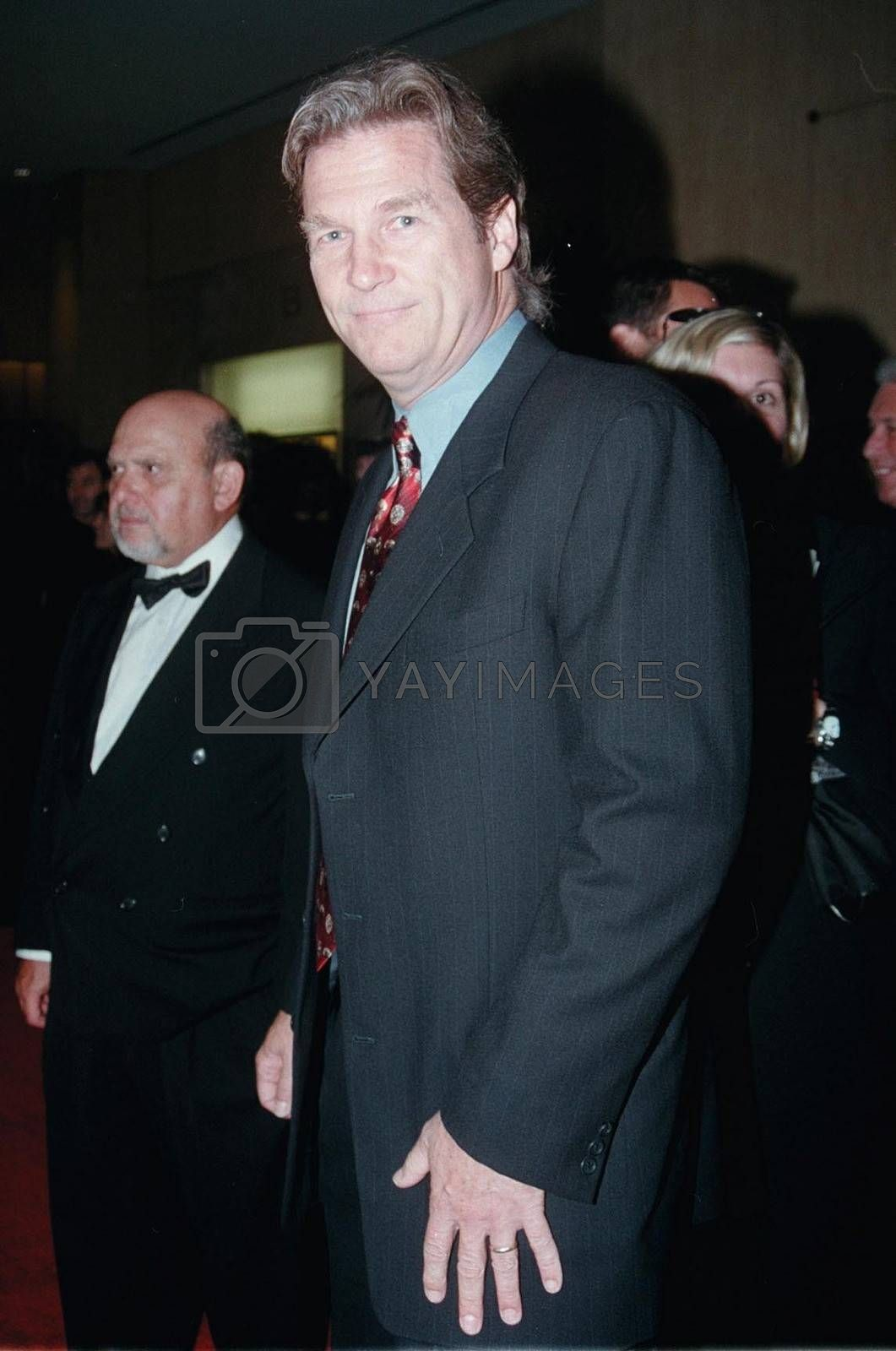 Jeff Bridges at the Hollywood Film Awards in Beverly Hills. 08-08-00
